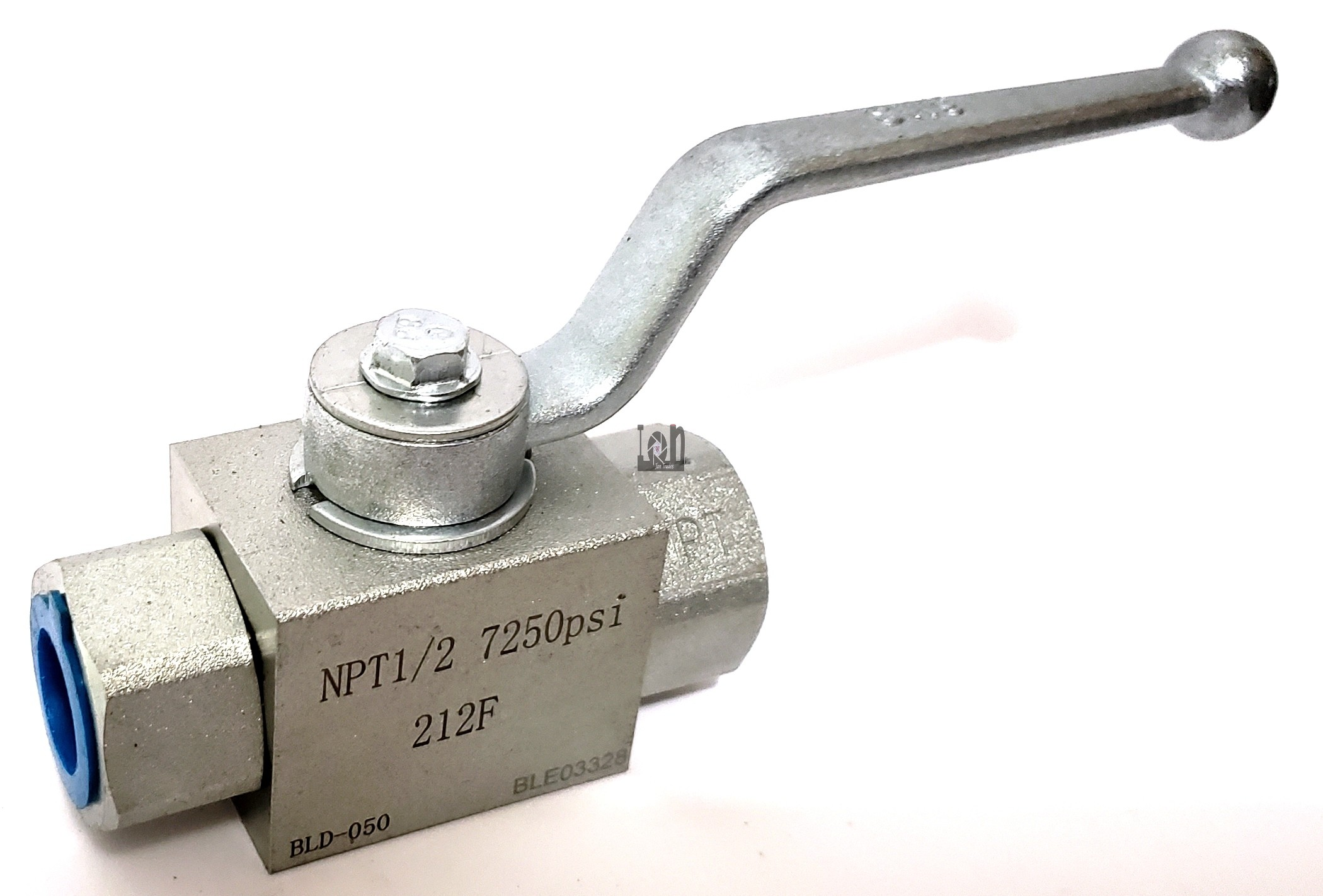 "1/2"" NPT Hydraulic Ball Valve 7250psi Full Port"