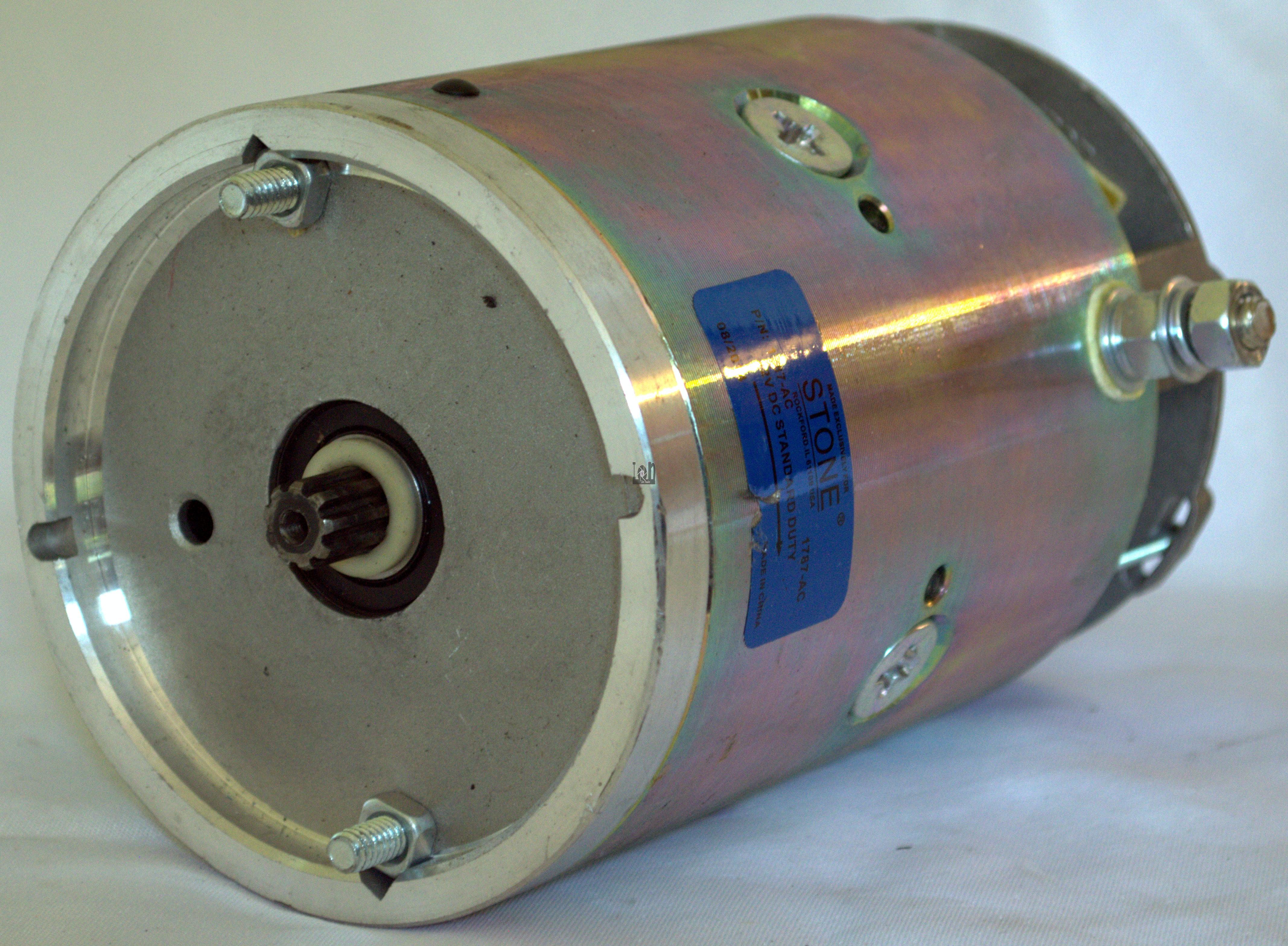12V DC Pump Motor 1787-AC 2.68HP Maxxon Fenner Lift Gate Parts