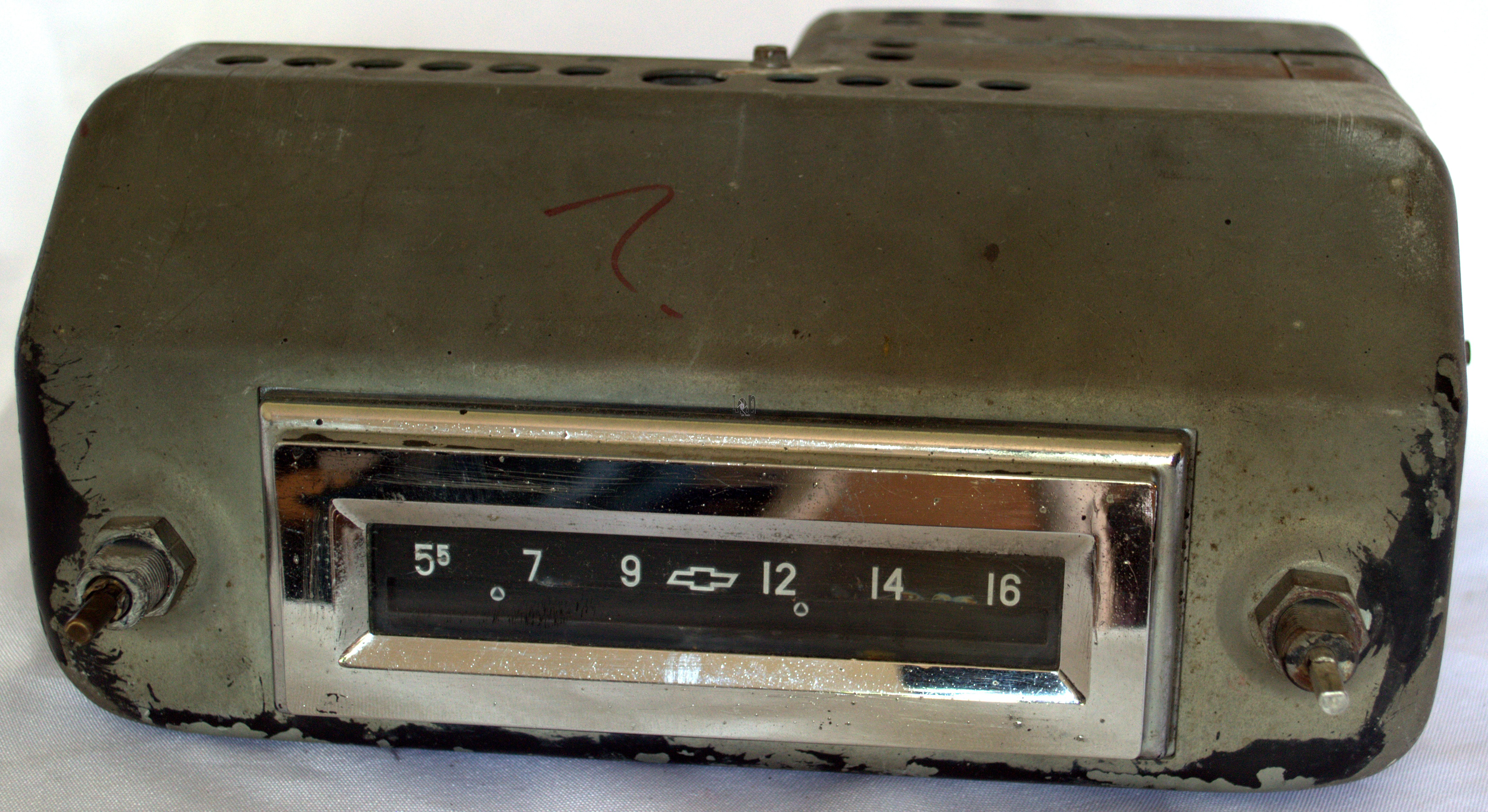 1955 Chevy AM Radio For Parts Untested Vintage Truck Parts