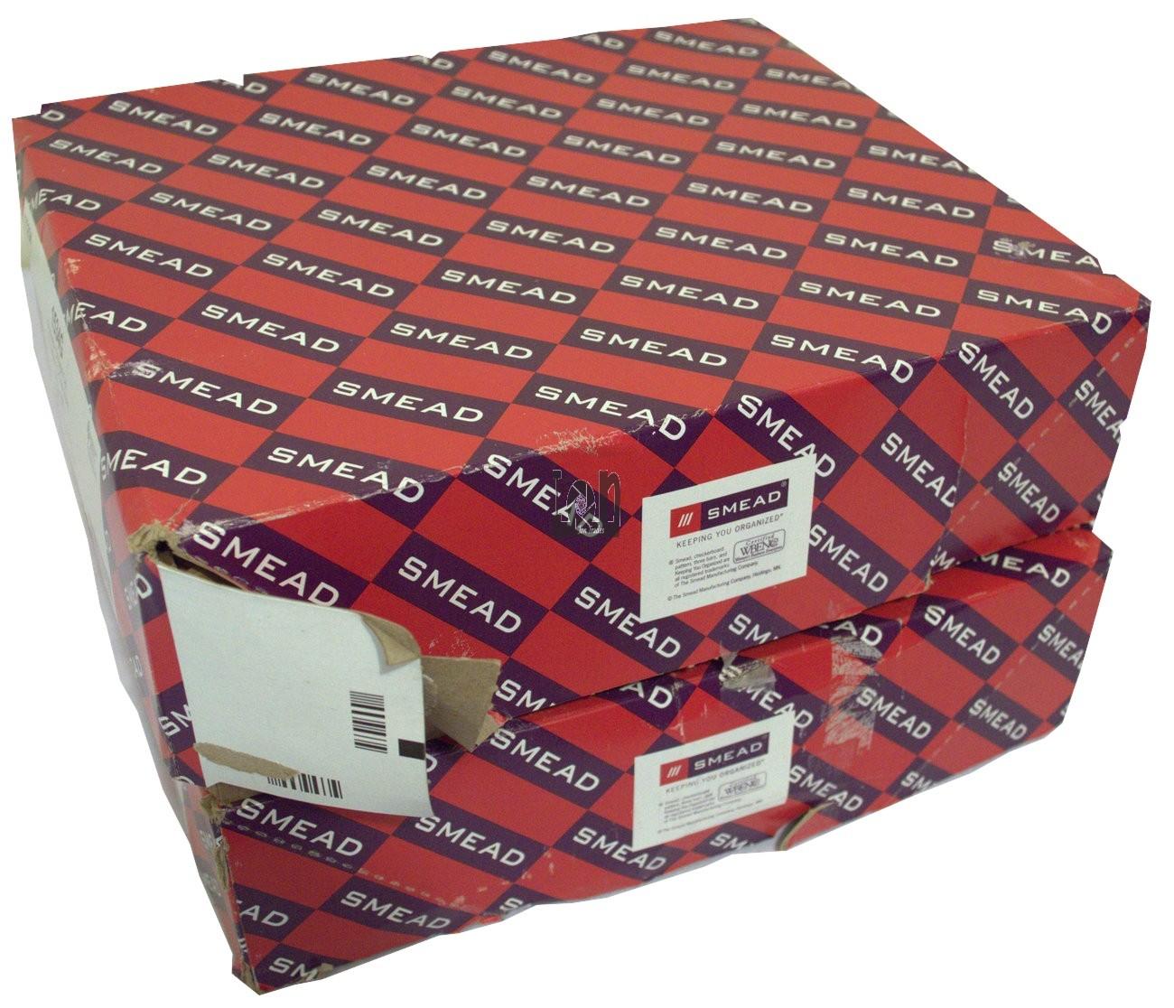 "2-Packs Smead 73234 File Pocket Redrope 10ea 5-1/4"" Expandable Folder"