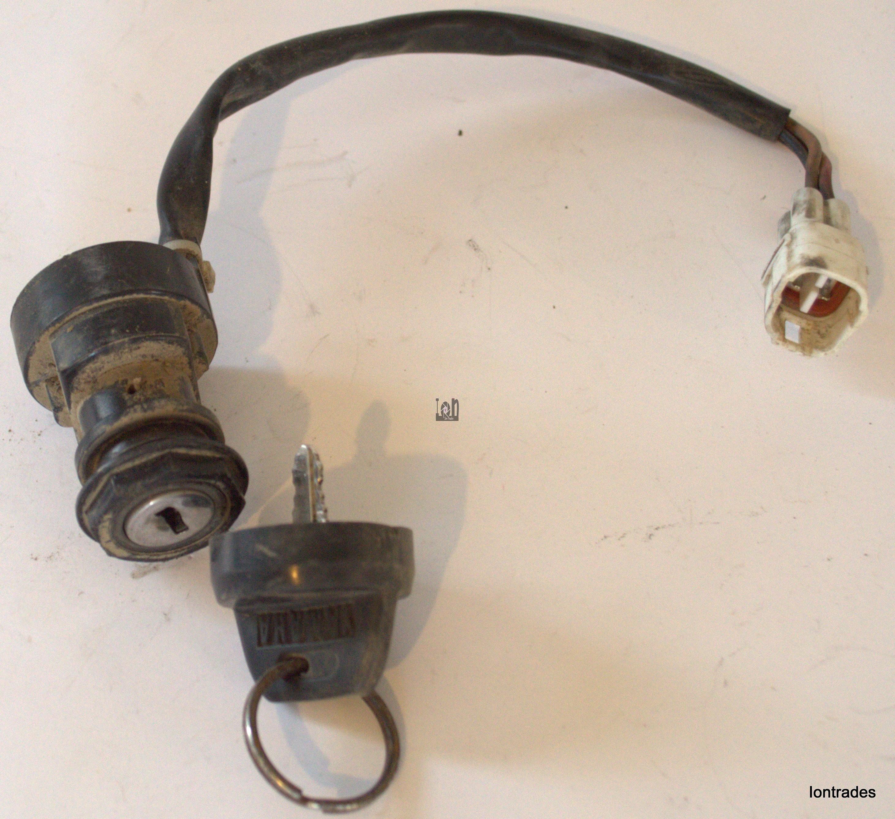 2001 Yamaha Ignition Key Switch Wolverine 350 Parts
