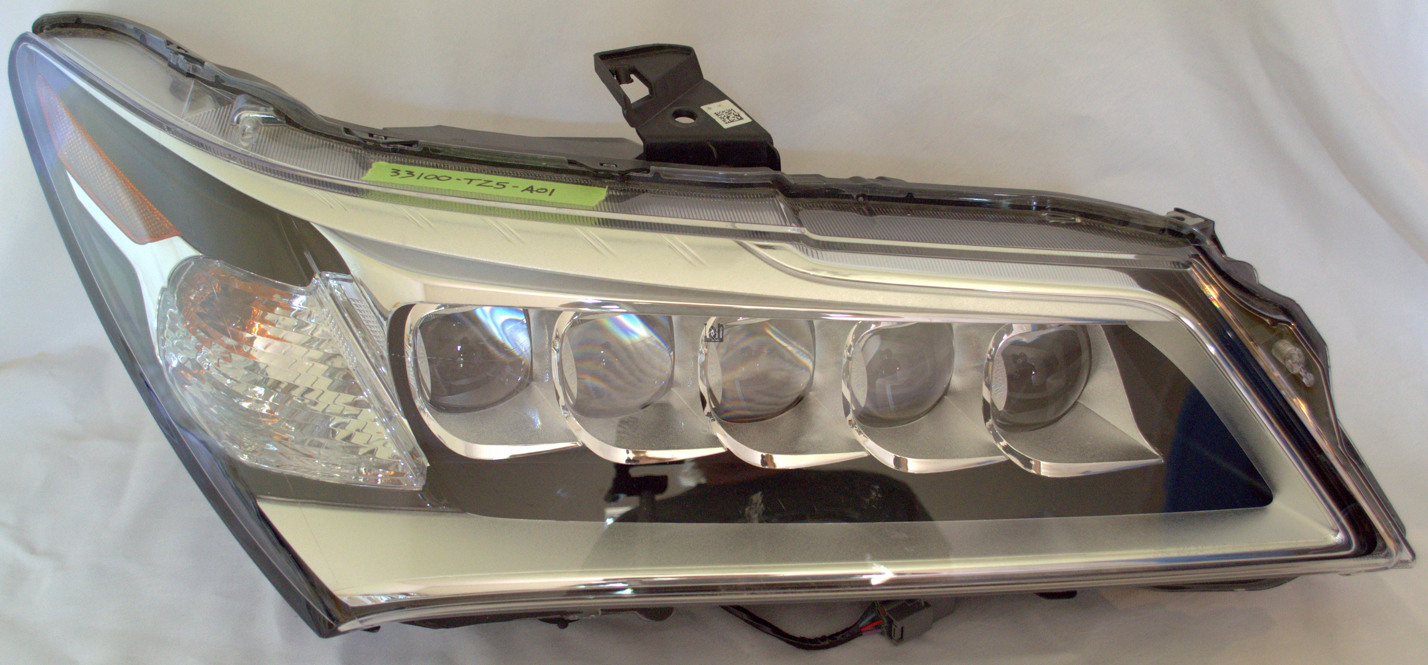 2014-2015 Acura MDX Right Headlight LED Lamp OEM Parts