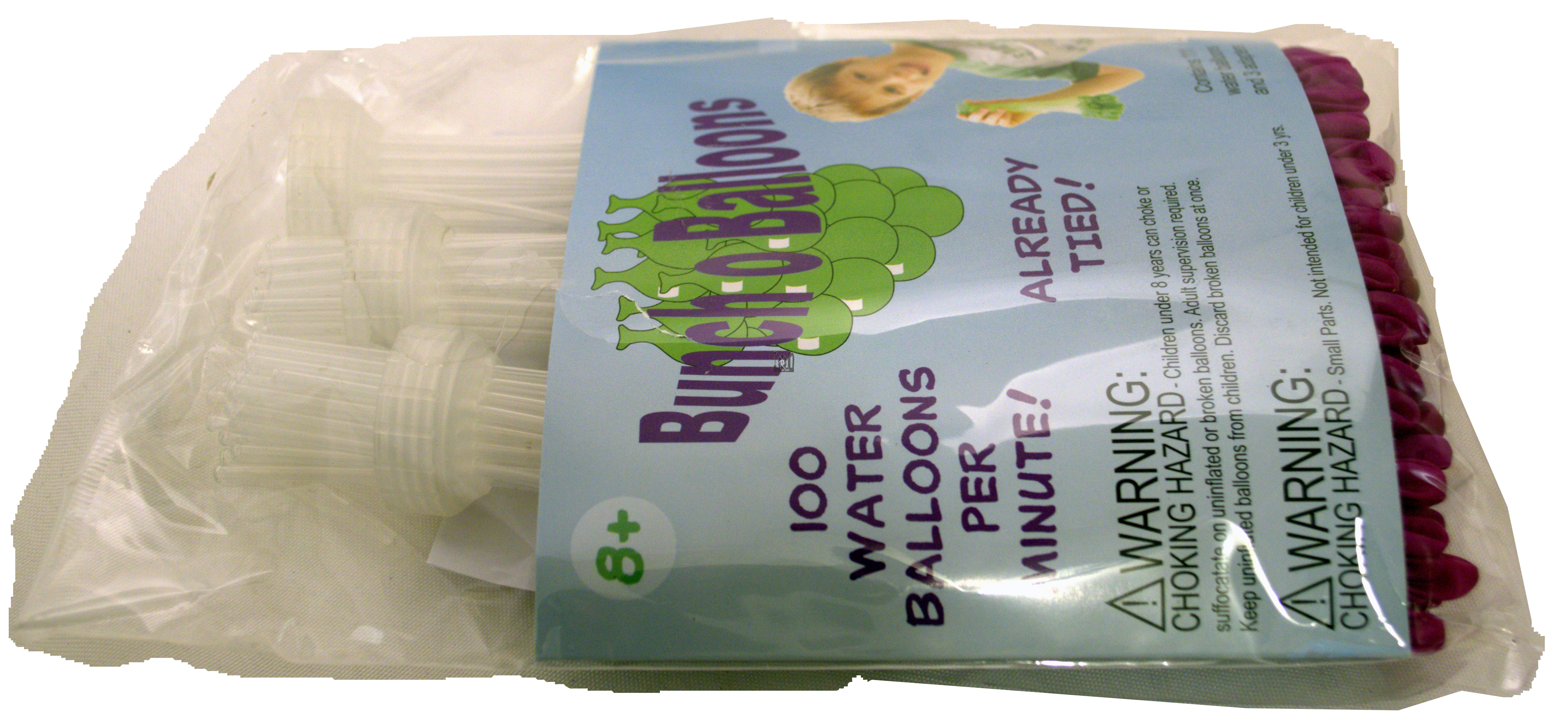2packs Bunch of Balloons GREEN PURPLE 200 Fast Water Balloon