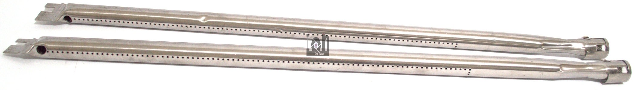 """2pc 28"""" x 1 Gas Grill Burners Stainless Steel Tube Burner Replacement Parts"""