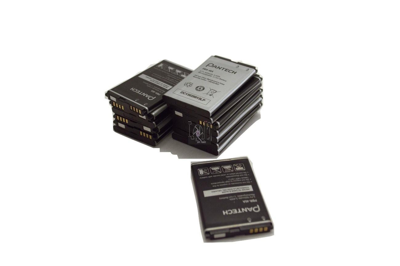 3-Pack Pantech PBR-46A Batteries BREEZE 2 P2000 920mAh