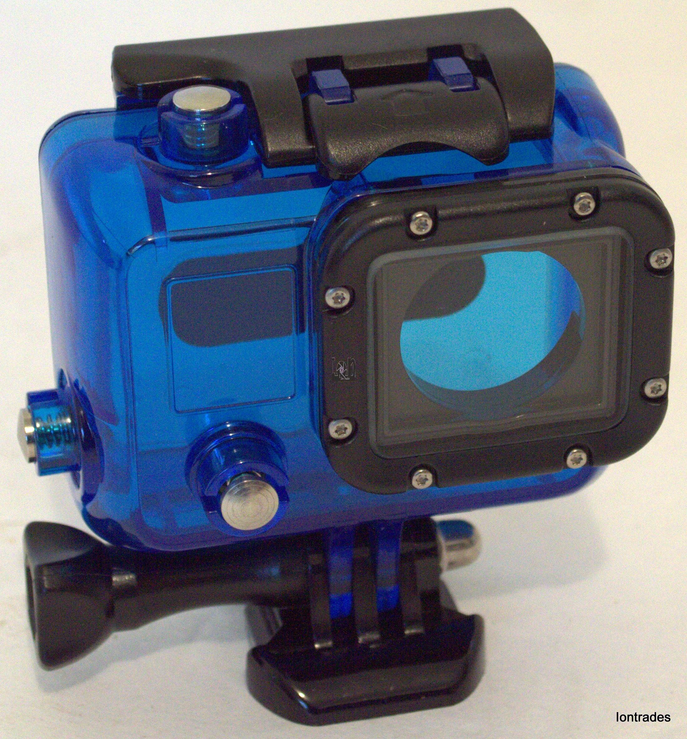 30mm GoPro Hero Protective Housing BLUE For Hero 3 Diving Case Waterproof