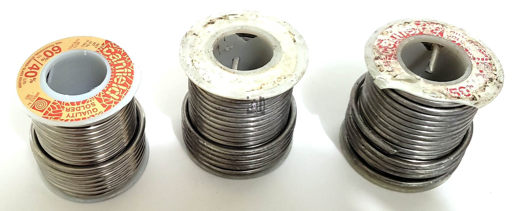 3lb Solder Lot Assorted Canfiled 60/40 50/50  and ?