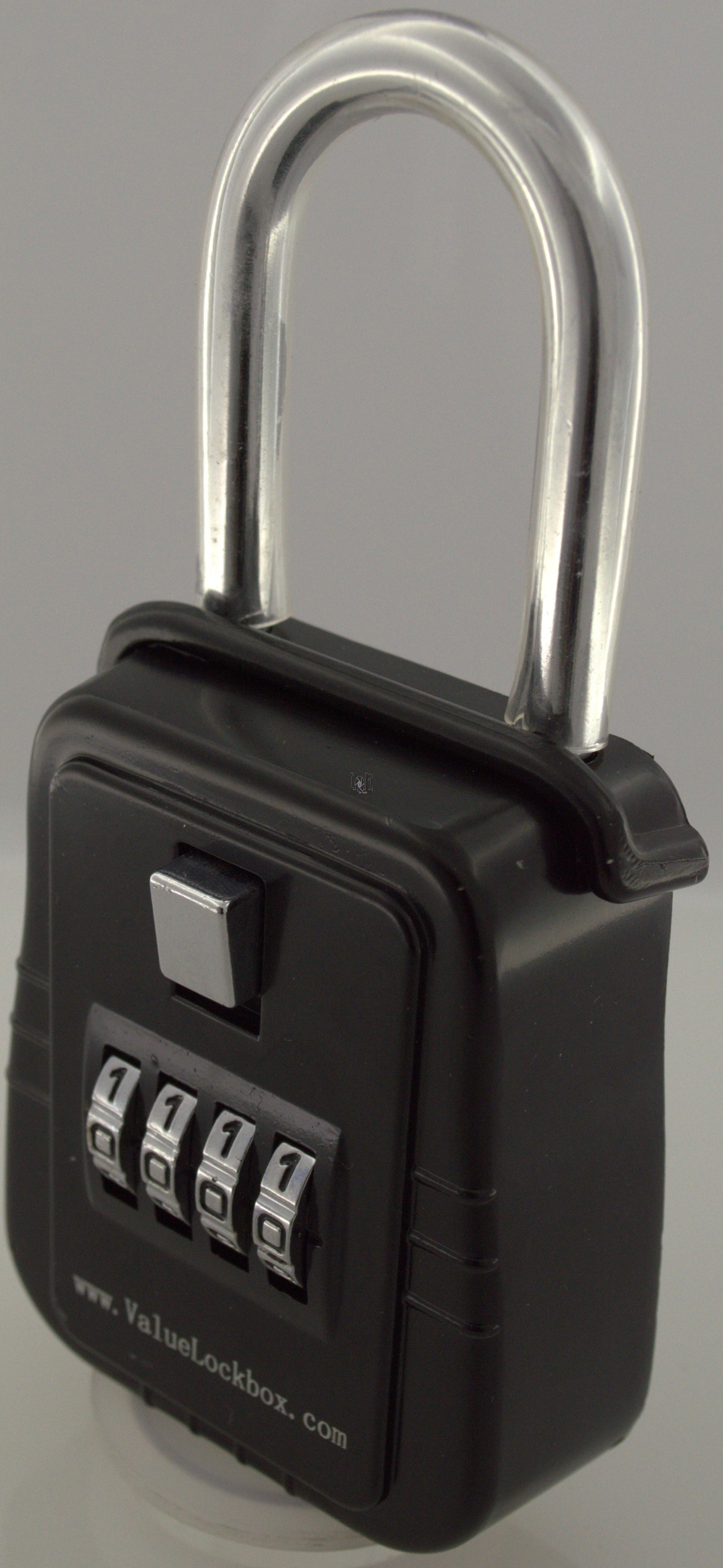 4-Dial Combination Realtor Lock Box Door Key Shackle