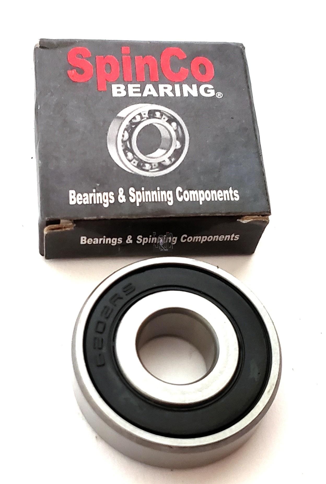 "6202-2RS 1/2"" Bearings 1/2"" x 1-3/8"" x 0.43"" Sealed Ball Bearing"