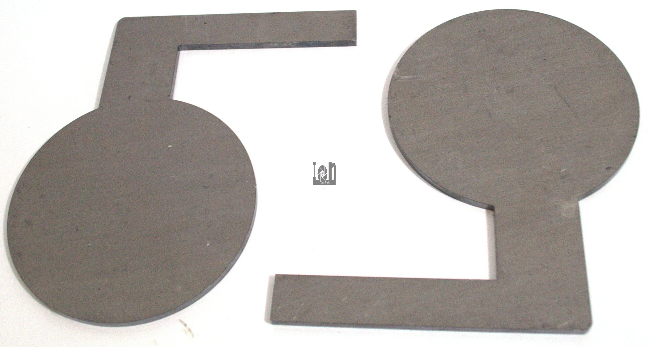 """8pc Dueling Tree Targets Pads 5"""" x 3/16"""" Paddles"""
