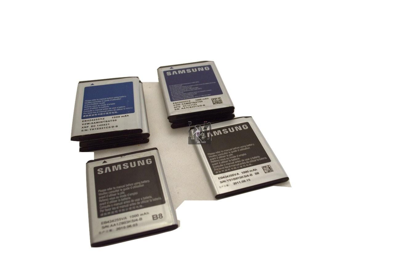 8pc  Lot Samsung EB424255VA Batteries 1000mAh Gravity Touch