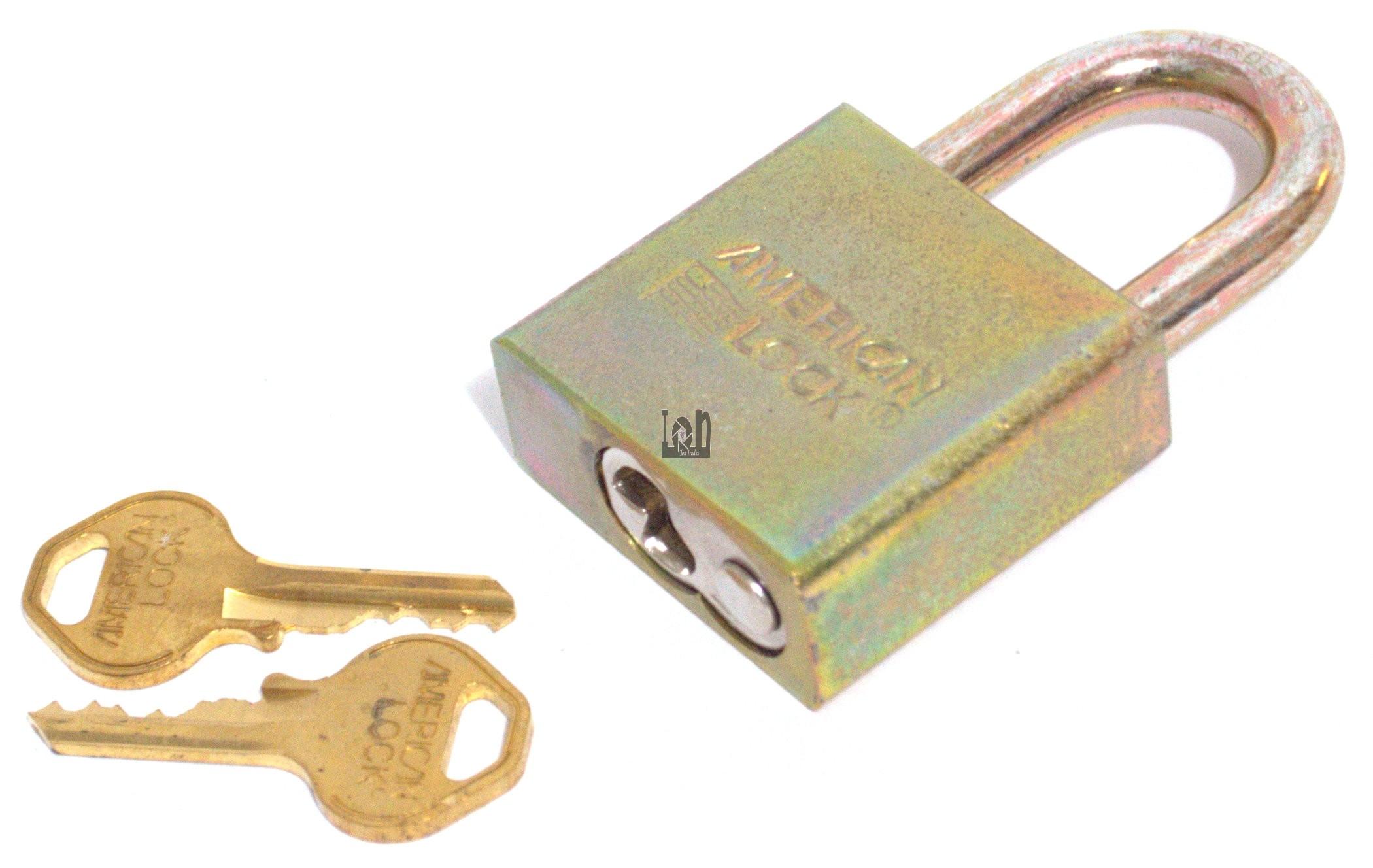 American Lock Padlock ASTMF883 High Security Locks Solid Stainless Steel