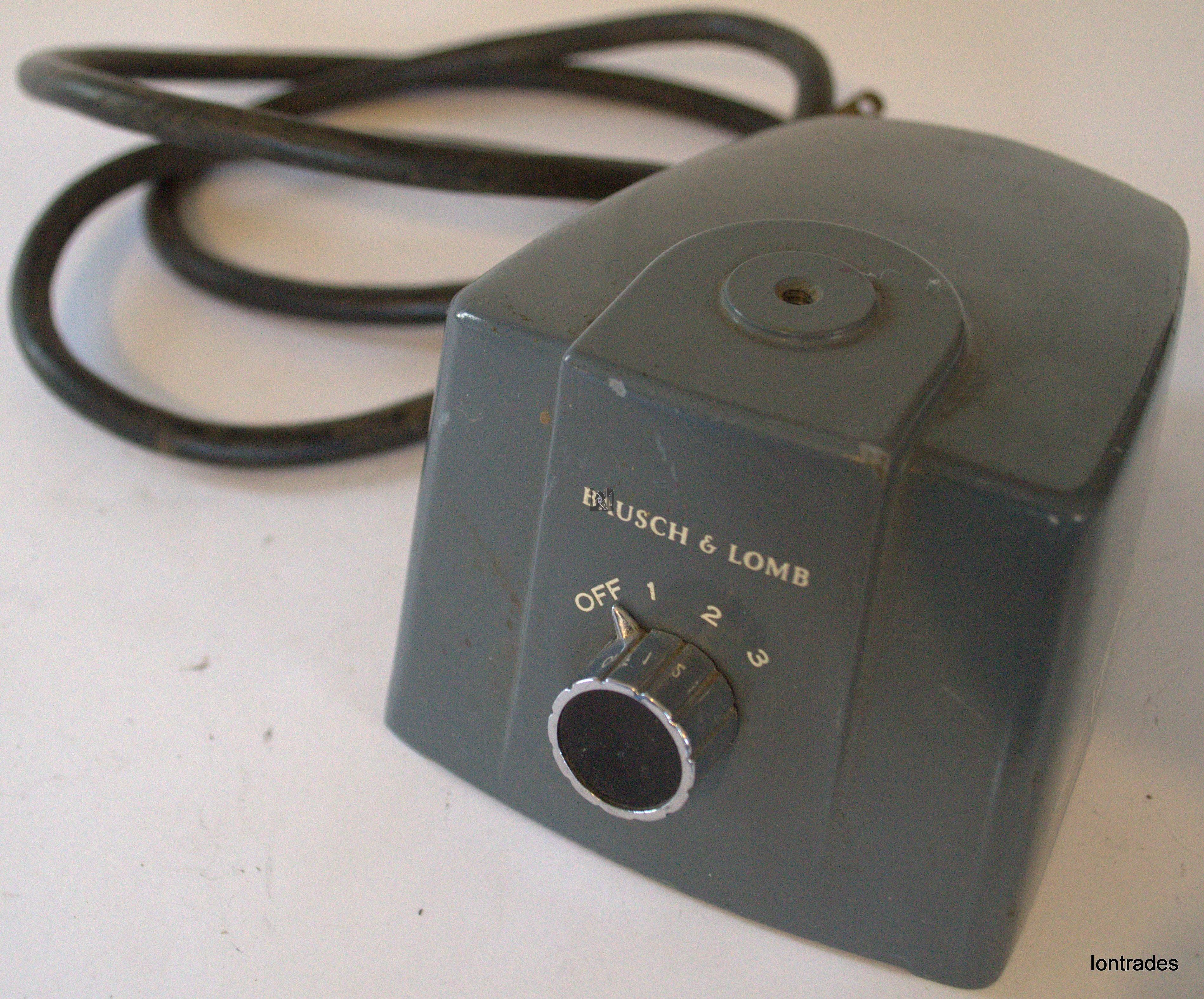 Bausch & Lomb Microscope Illuminator 31-33-53 BASE ONLY Parts