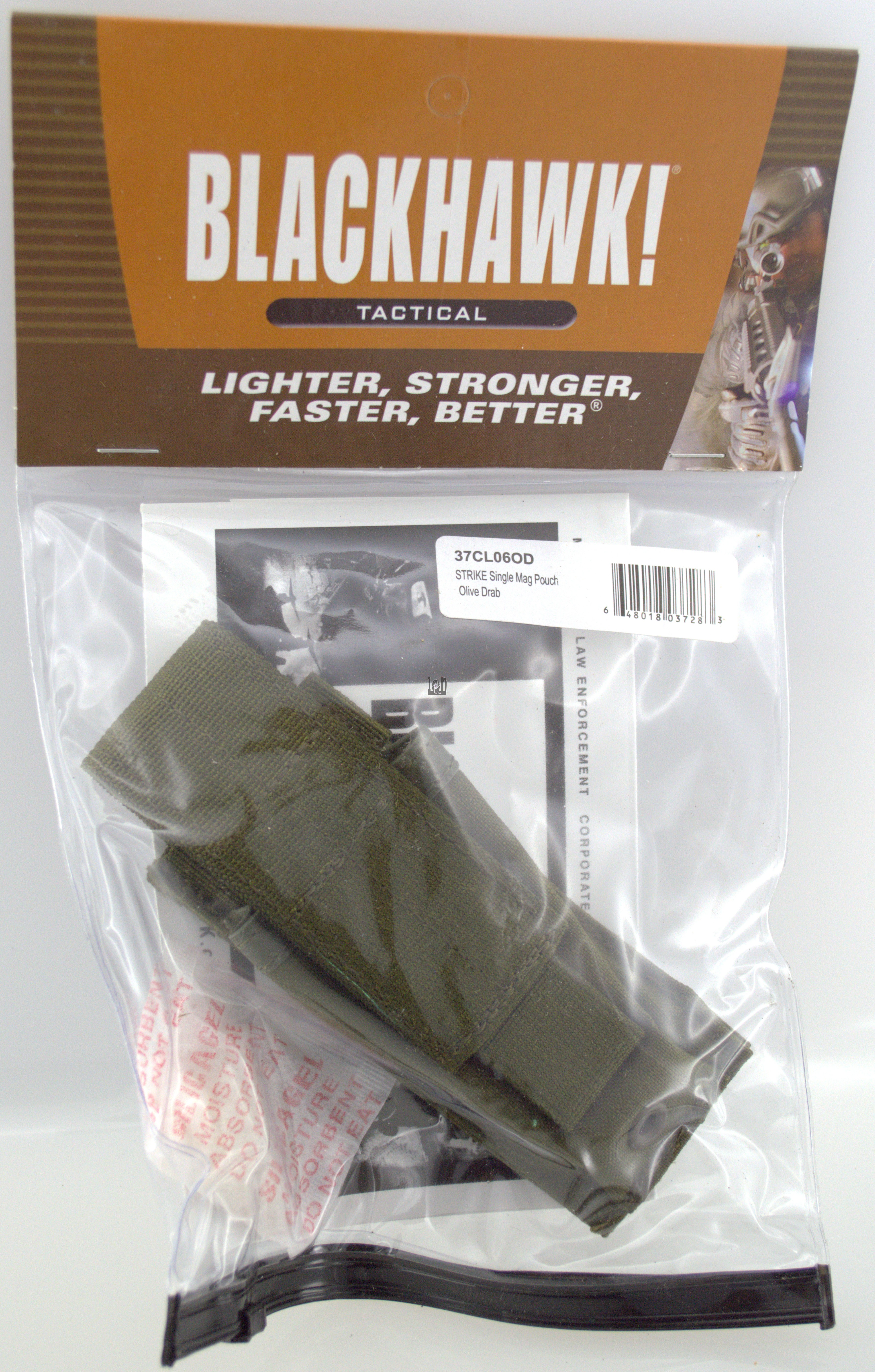 Blackhawk Tactical Single Mag Pouch OD Green Molle