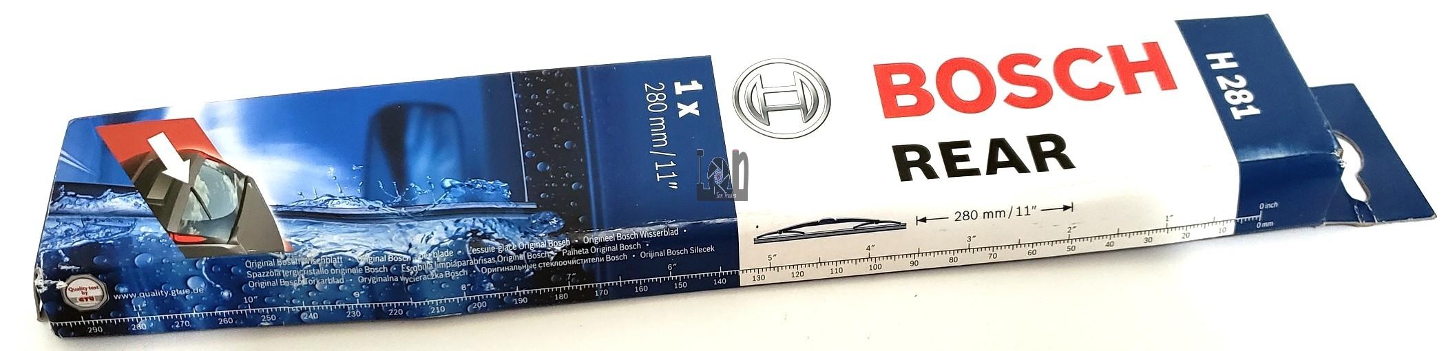 "Bosch Rear Wiper Blade H281 11"" Replacement"