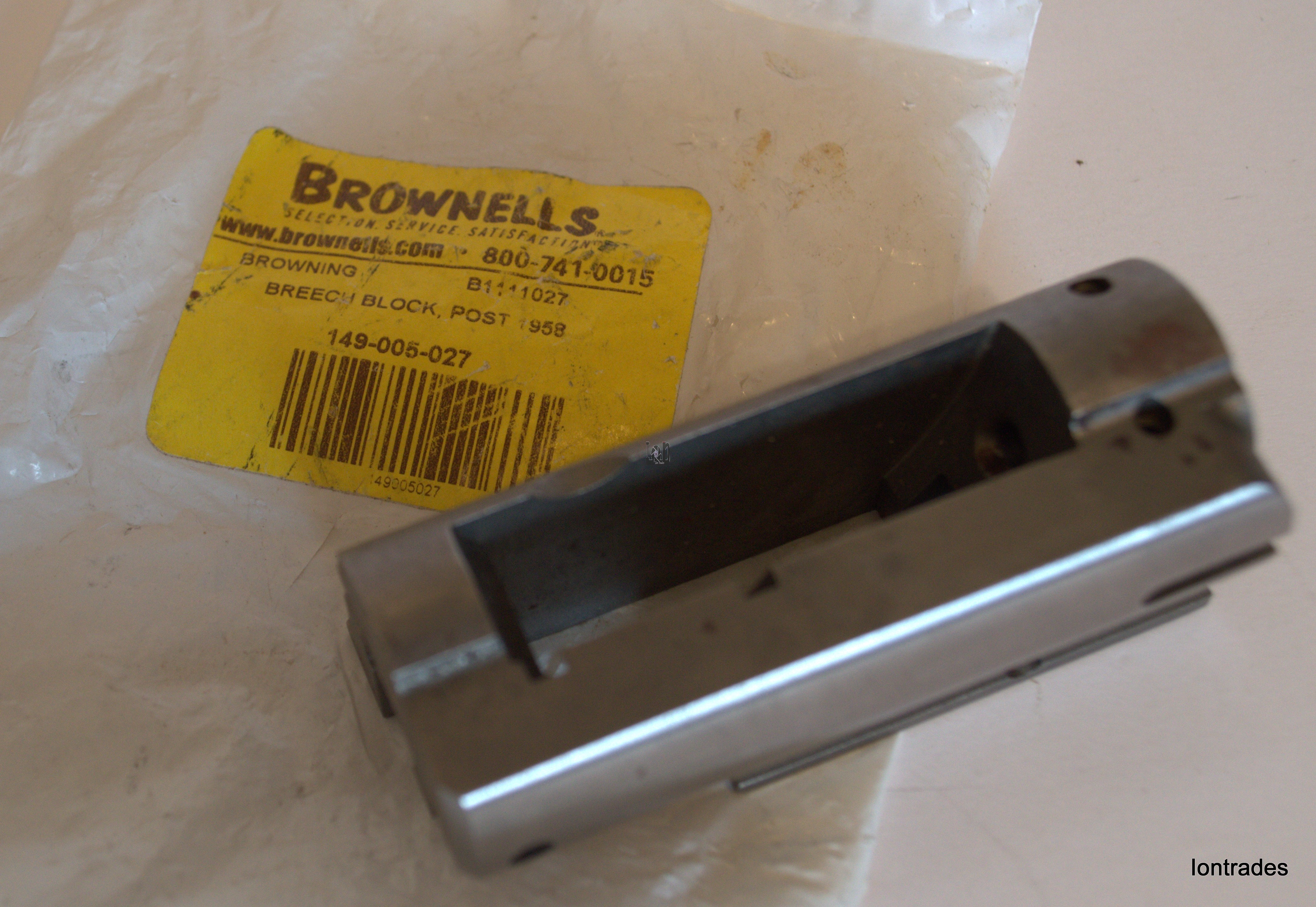 Browning A5 Breech Block Post 1958 Auto 5 Brownells