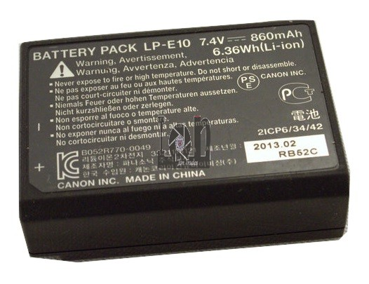 Canon OEM LP-E10 Battery 860mAh EOS 1100D 1200D Rebel T5