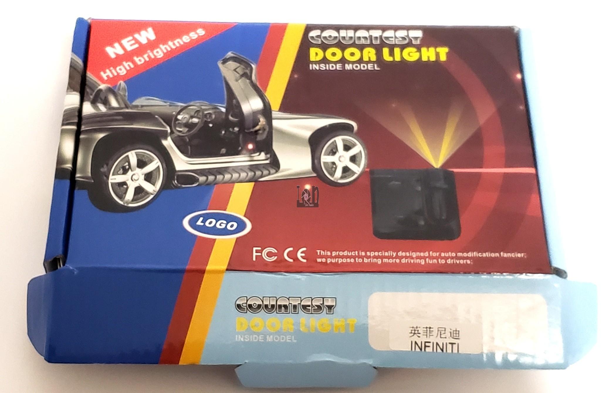 Courtesy Door Light INFINITI Logo Lens Inside Door Projector LED