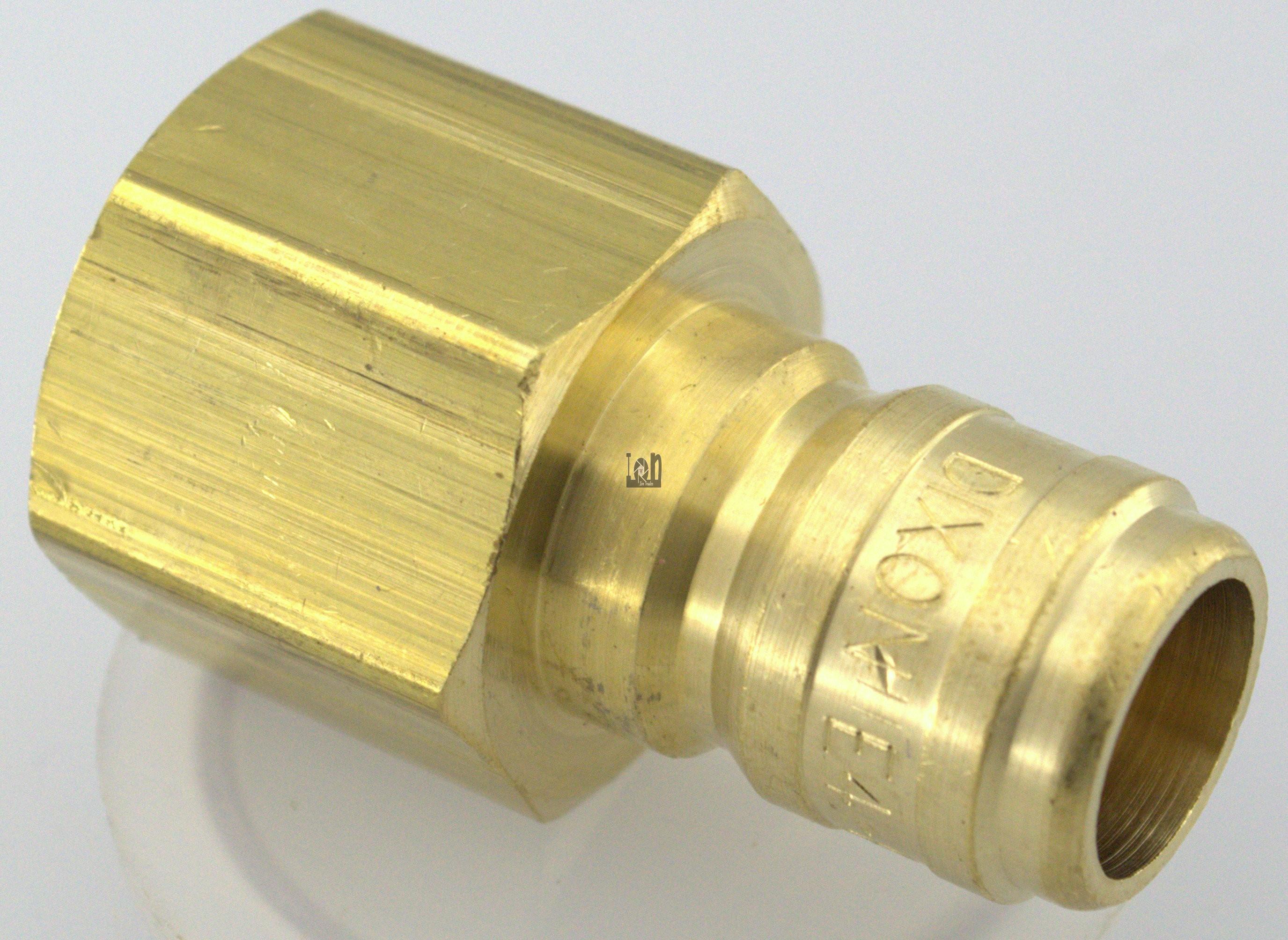 "Dixon 1/2"" Female NPT Brass Fitting 1/2"" Pressure Washer Quick Connect Male"