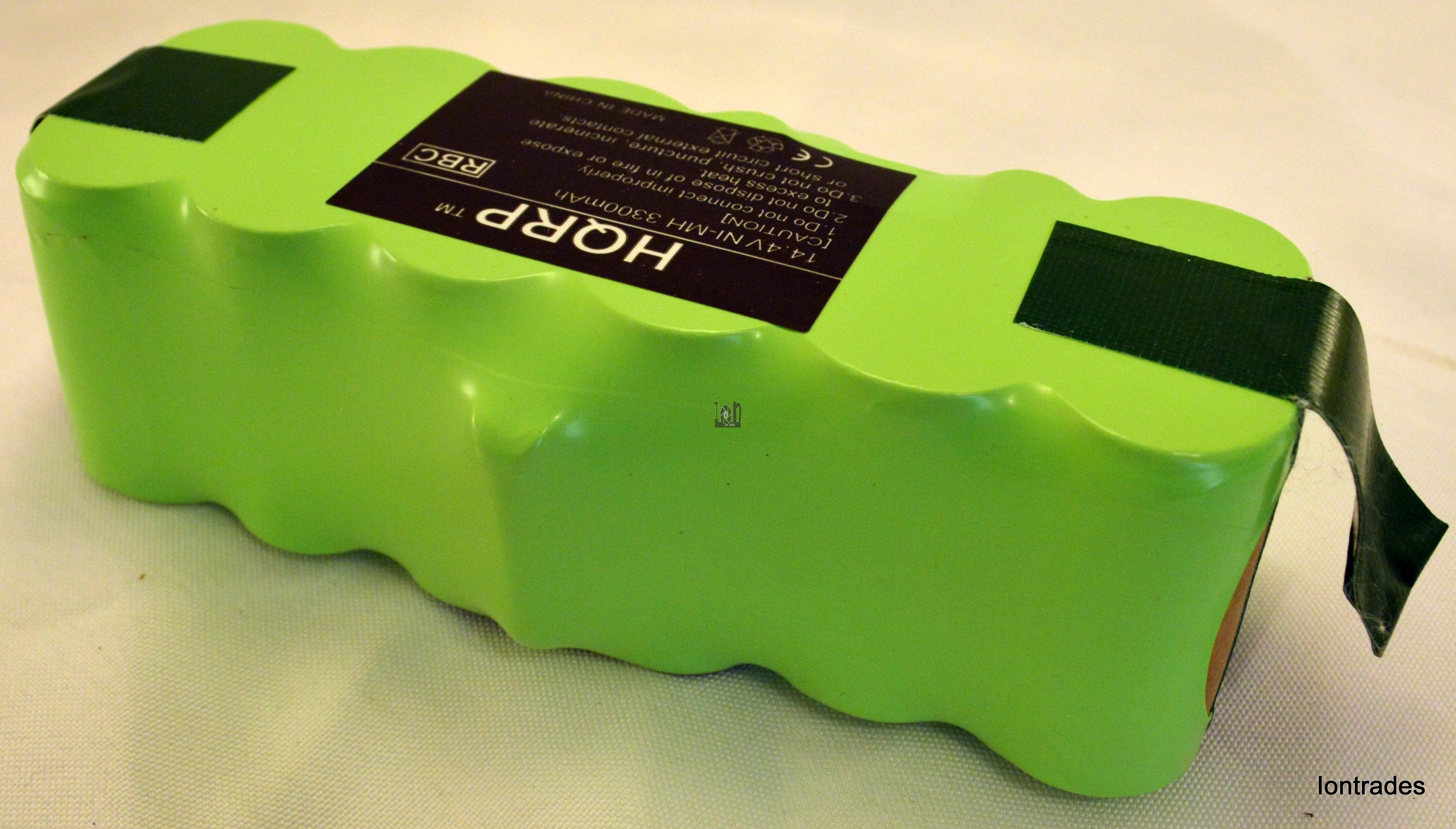 Replacement Irobot Roomba Vacuum Battery 3300mAh NIMH HQRP 500 600