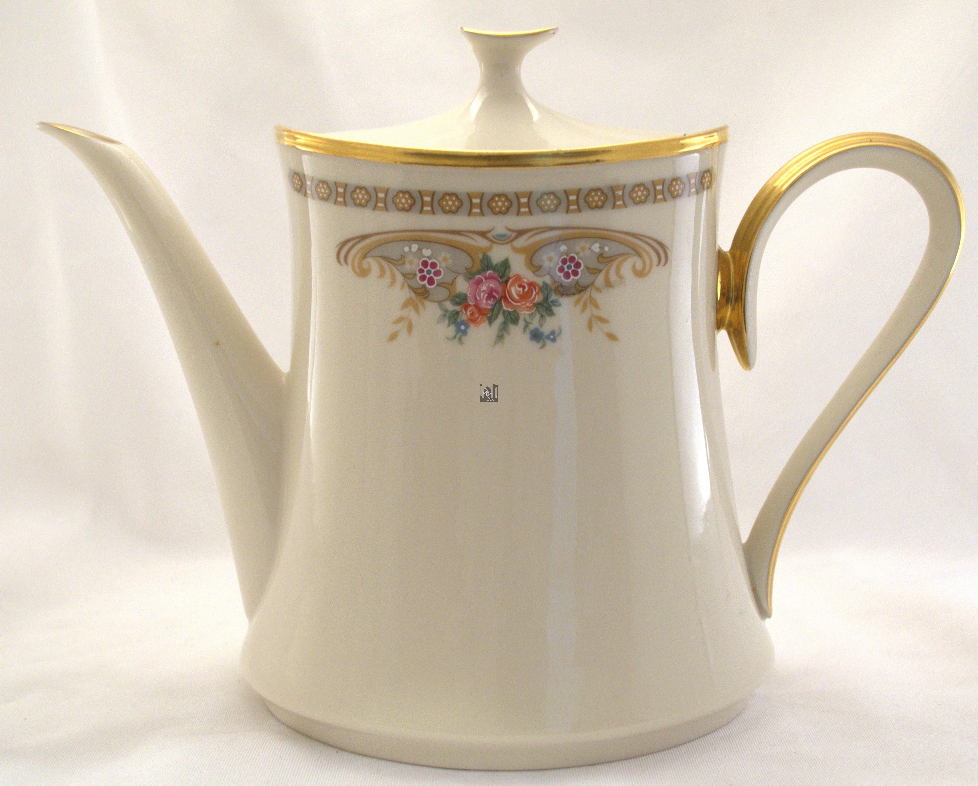 Lenox Versailles Coffee Pot USA