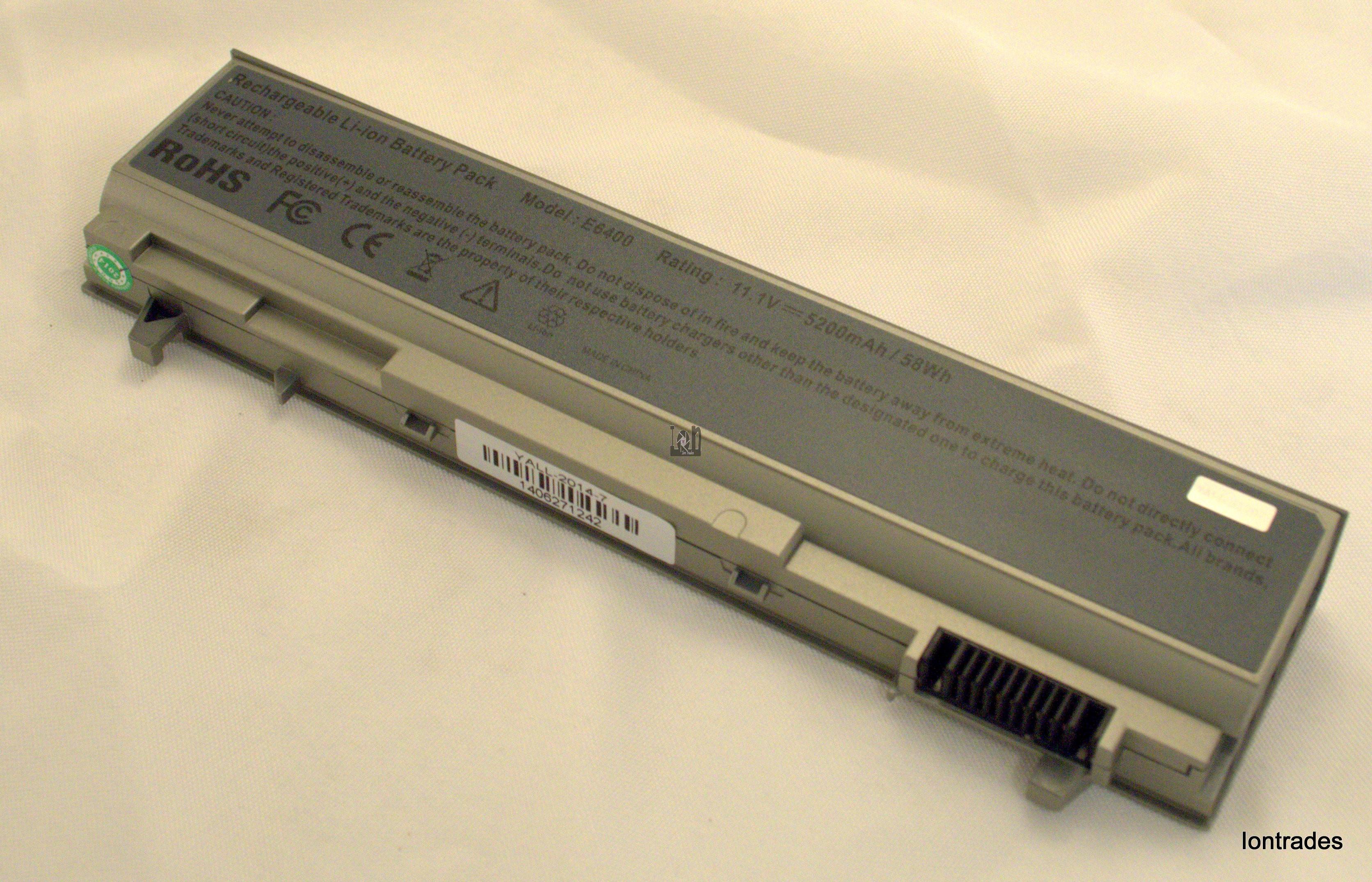 E64000 5200mAh Battery Replacement for Dell Latitude M2400 M4400