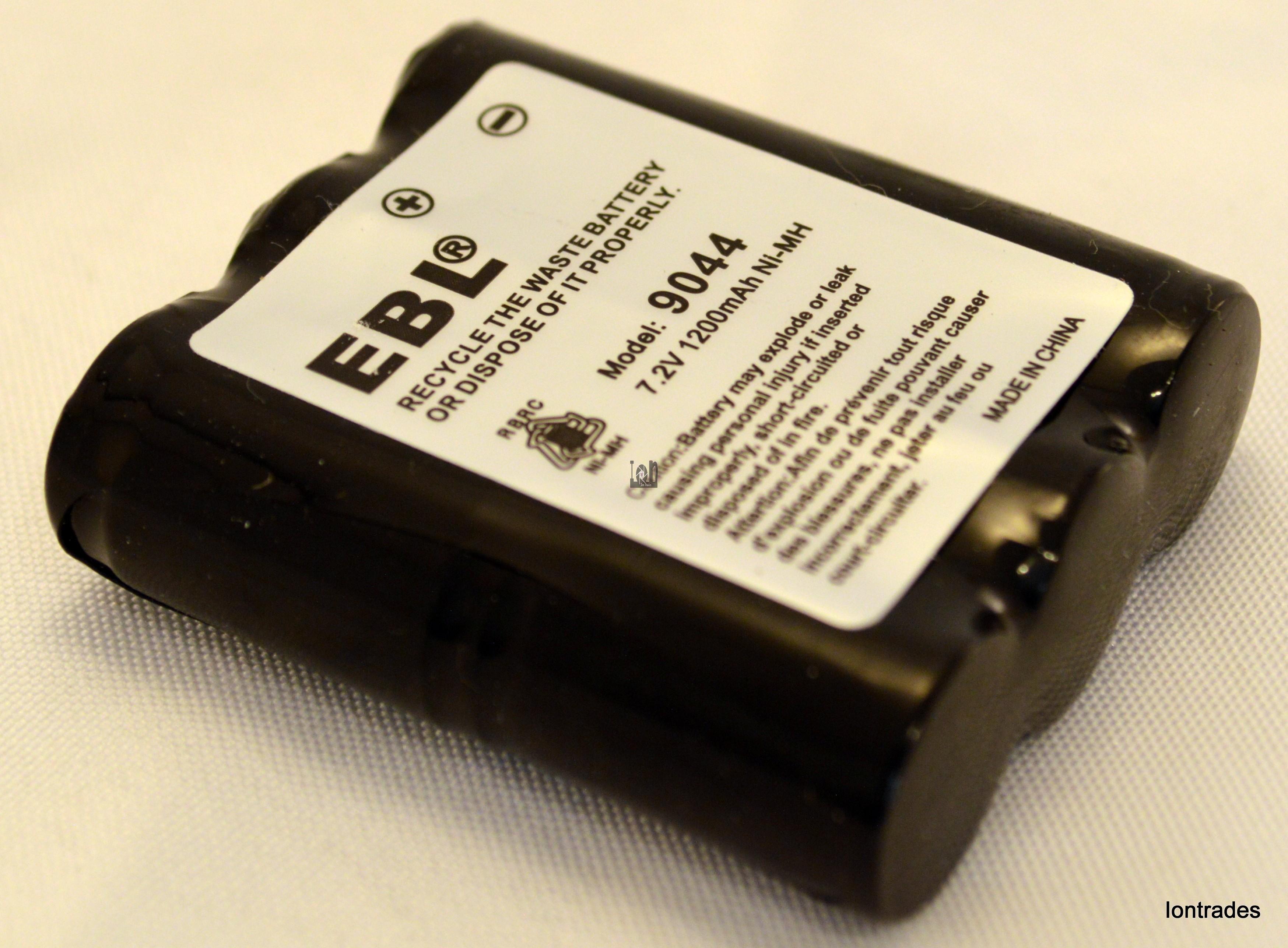EBL 9044 Battery  1200mAh 7.2V NiMH Motorola MV11C Replacement