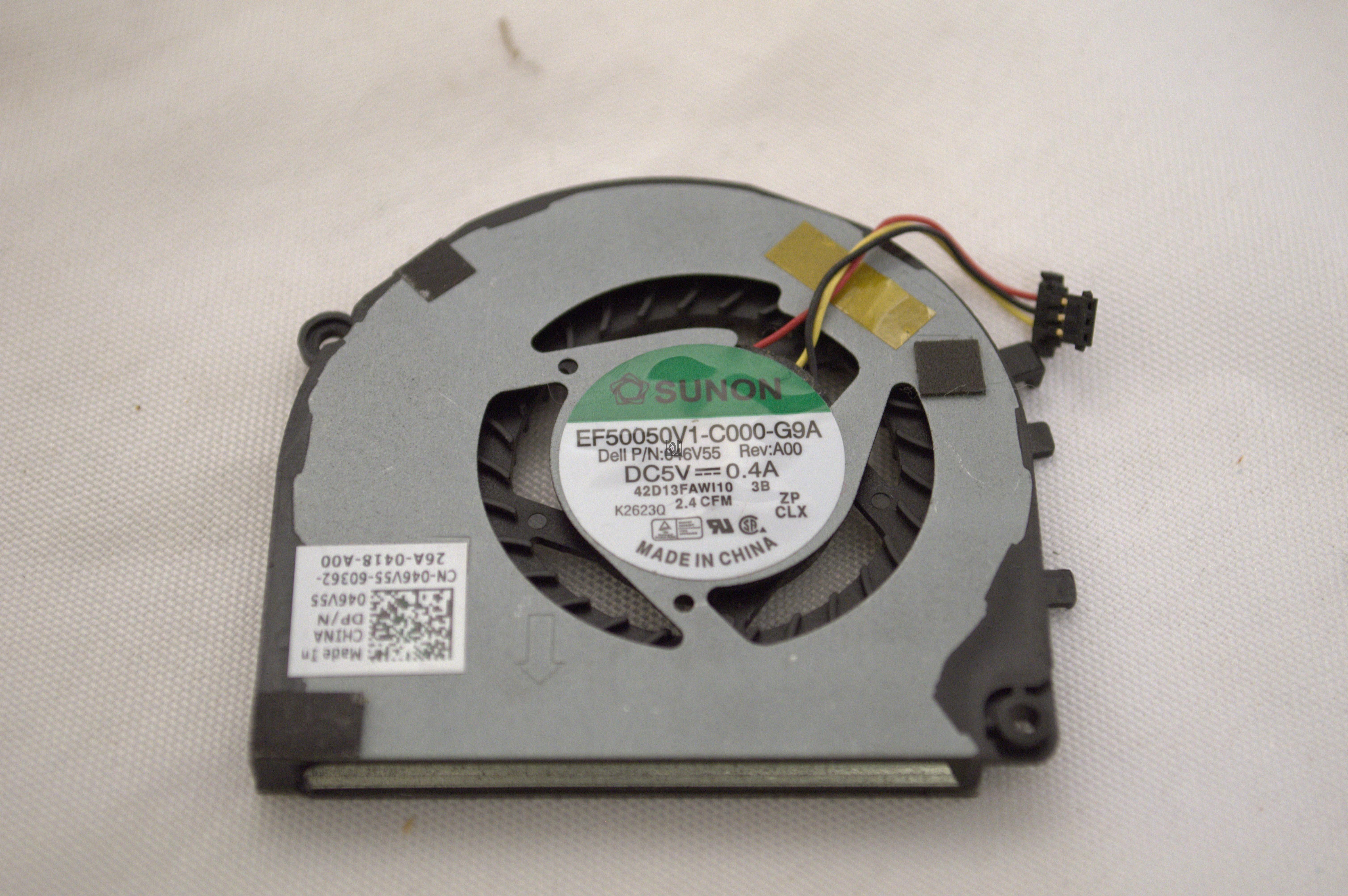 EF50050V1-C000-G9A Dell XPS CPU Case Cooling Fan Dell Part Number 046V55