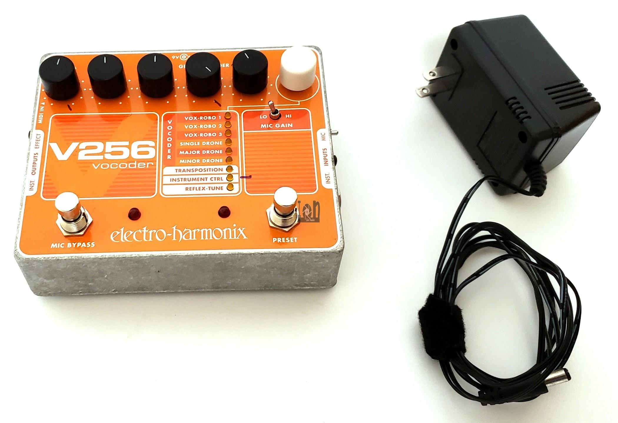 Electro-Harmonix V256 Vocoder with Reflex Tune Guitar Effect Pedal