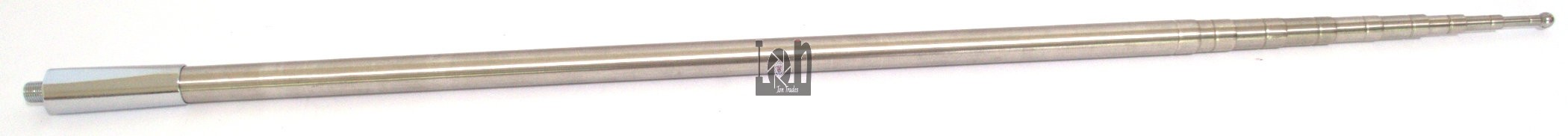 Extra Long Telescoping Antenna Stainless Steel SS 16.9ft