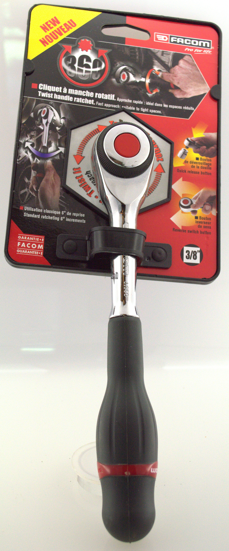 "Facom 3/8"" Drive Ratchet J.360PB Twist Handle Tool"