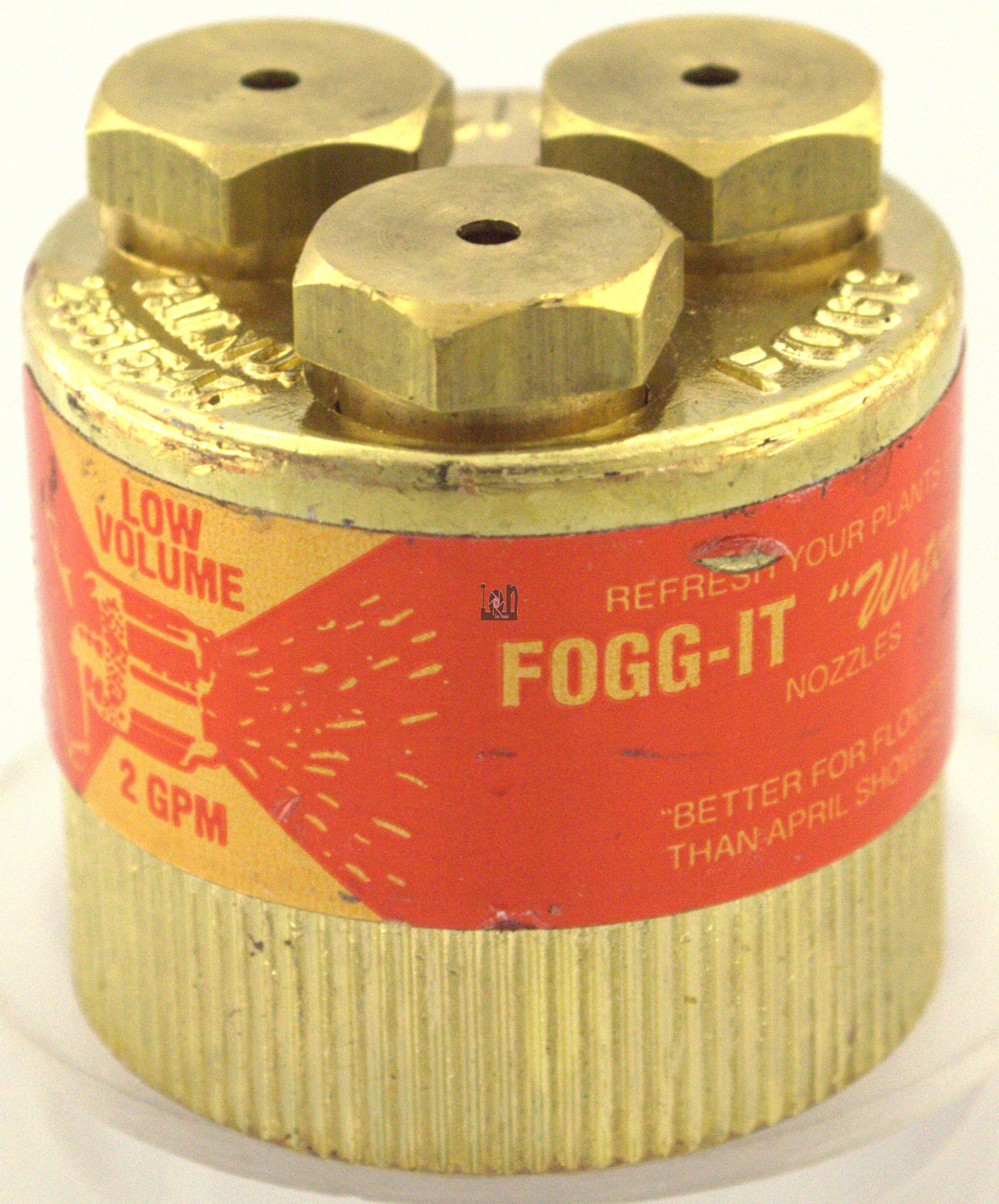FOGG-IT Nozzle Low Volume Garden Hose Adapter 2GPM