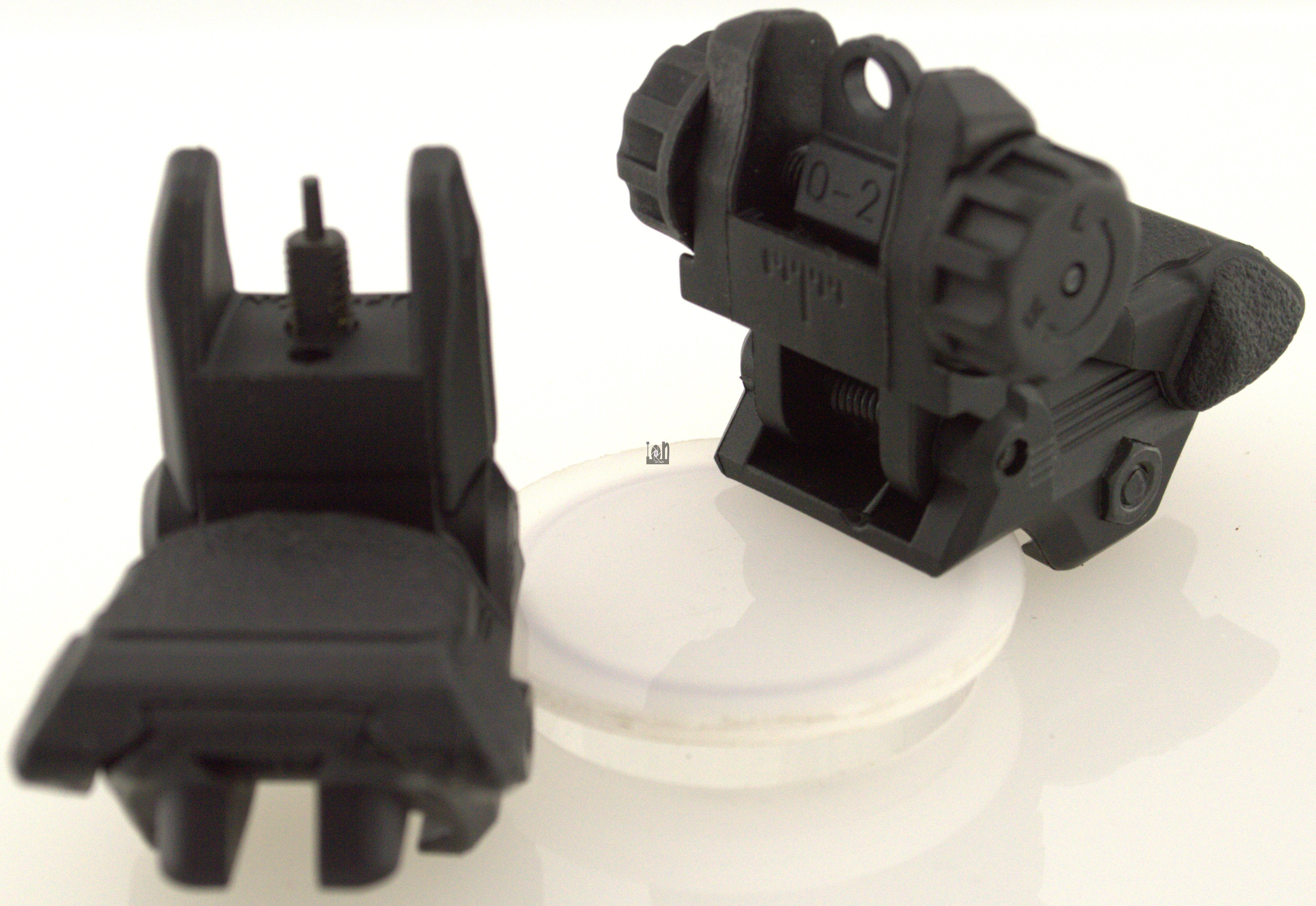 Folding Front Rear Back Up Iron Sights BUIS Flip Up
