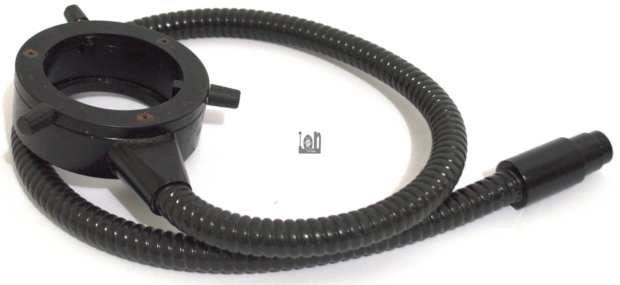 "Fostec Microscope Ring Light 32"" Cord 63mm Diameter 16mm"