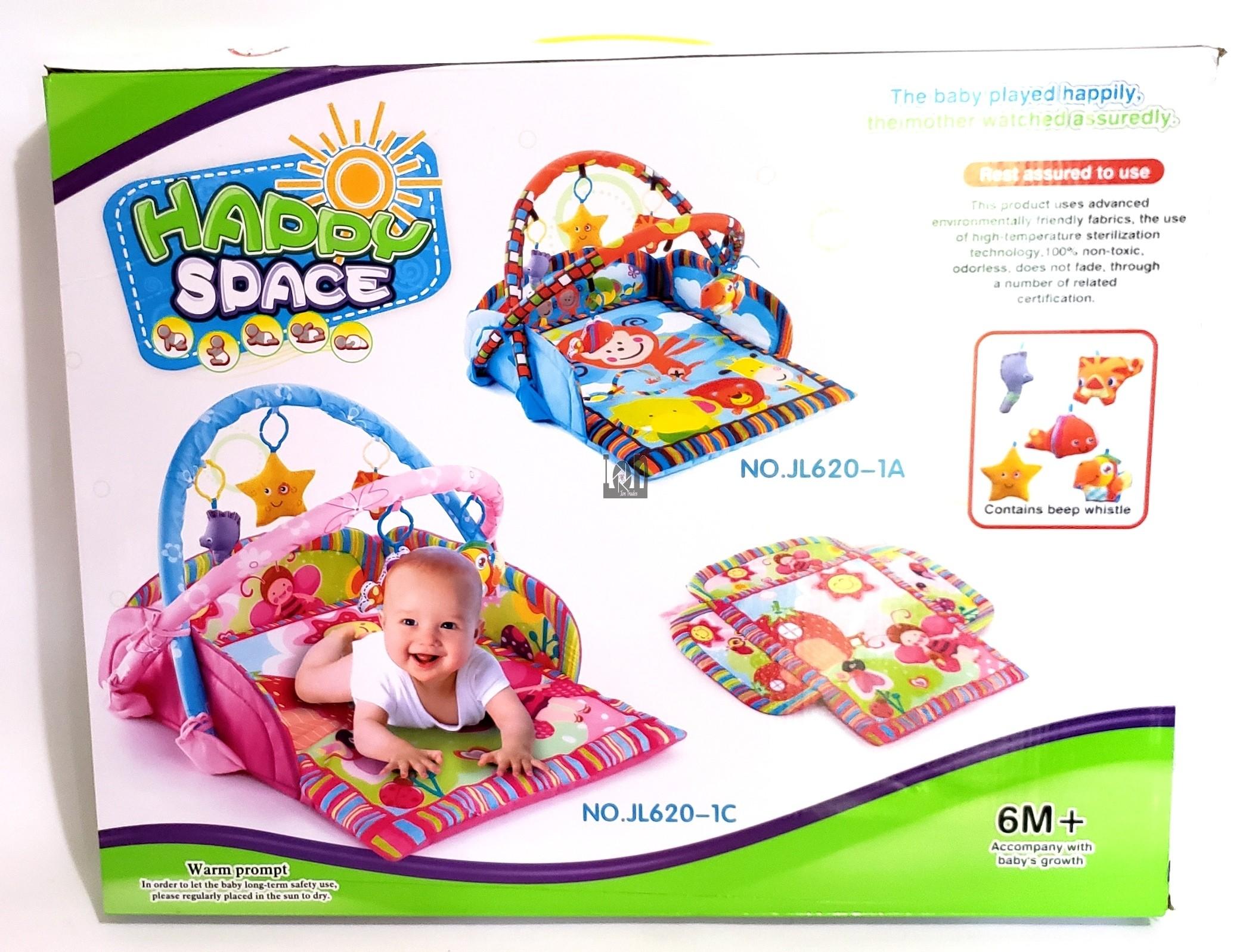 Happy Space Baby Play Mat Orange 6M+ Gym