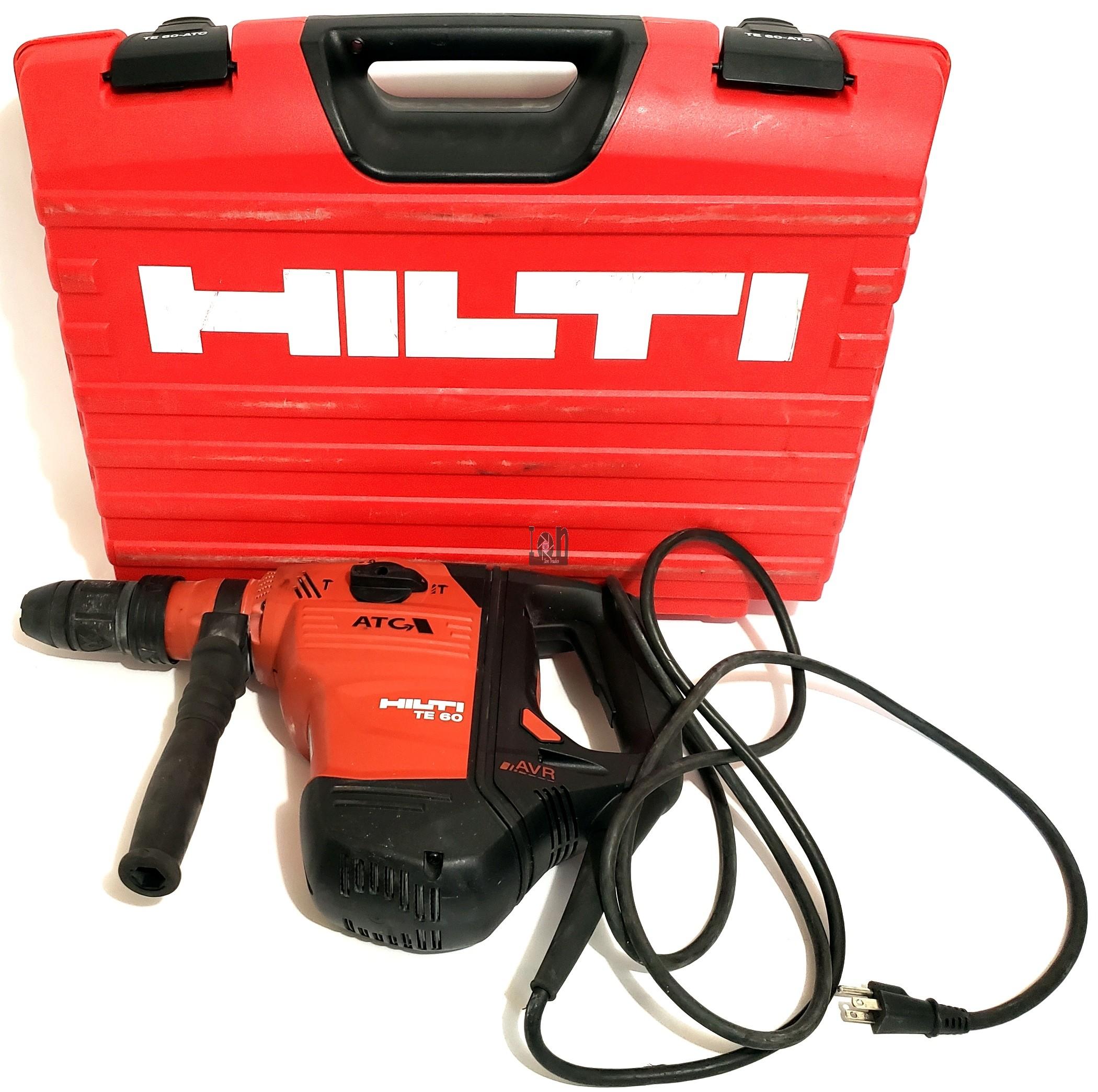 Hilti Rotary Hammer Drill TE 60-ATC Corded SDS Max Demolition