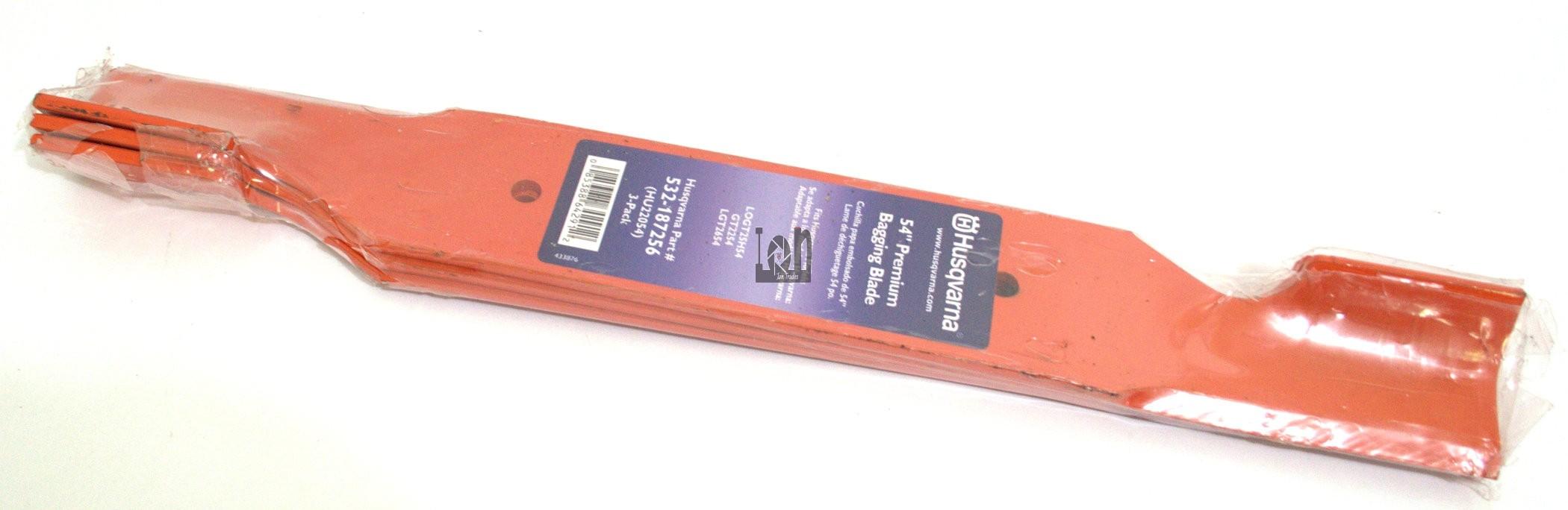 Husqvarna HU22054 54-Inch Premium Hi-Lift Bagging Blade 532-187256
