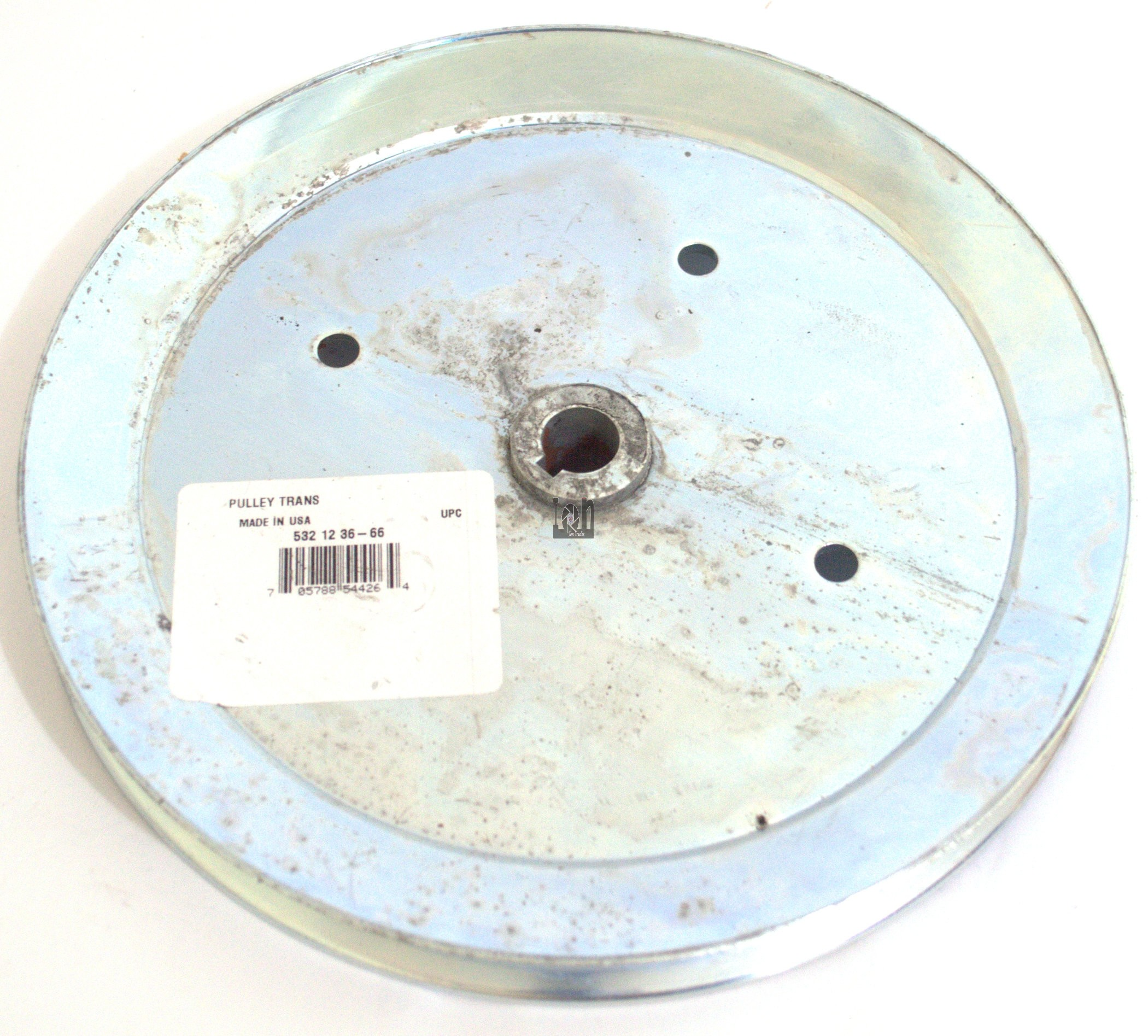 "Husqvarna Transaxle / Drive Pulley 532123666 9"" x 1 x 5/8"" Riding Mower Parts"