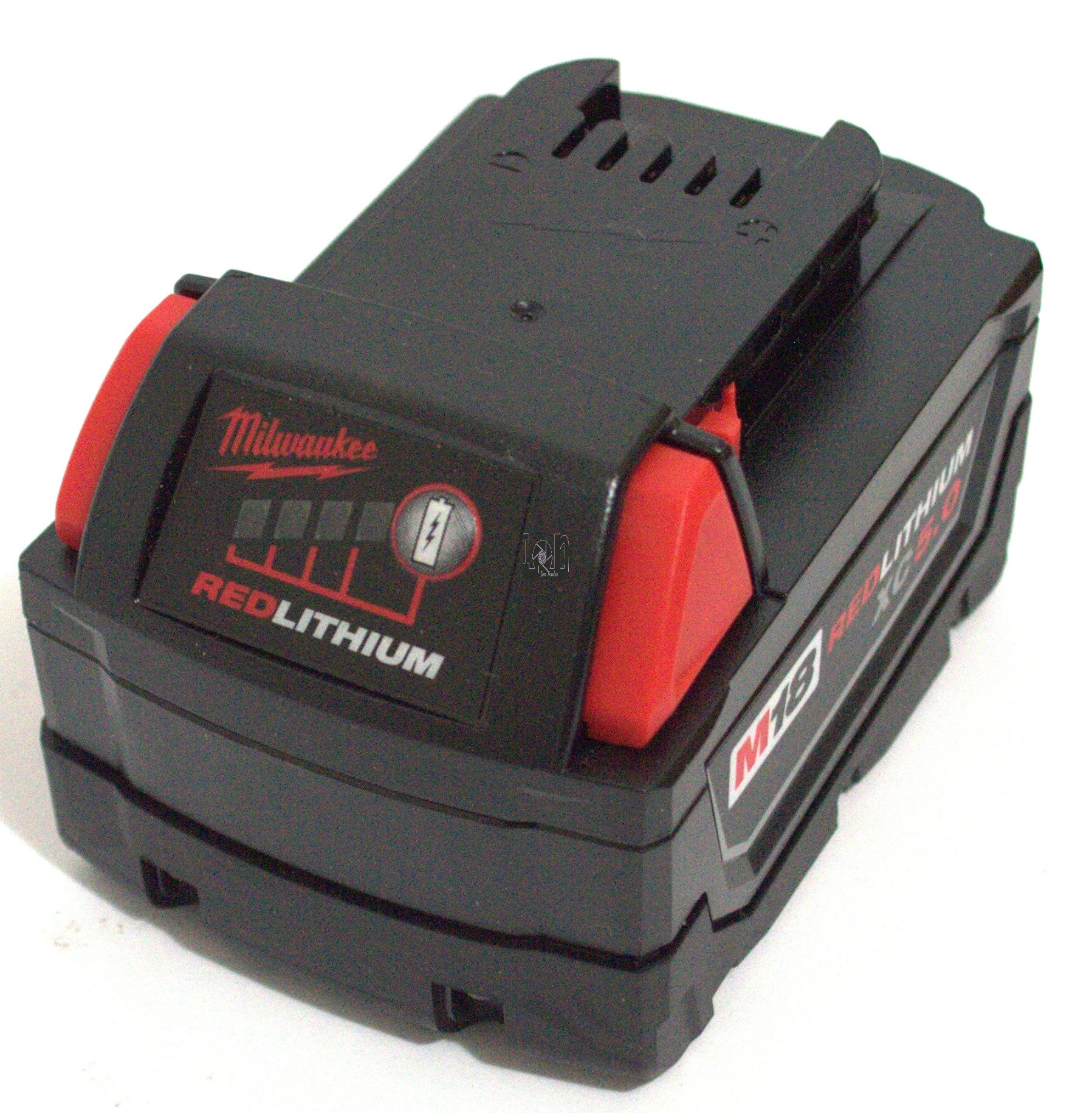 Milwaukee 5inr19/65-2 M18 Battery Pack Red Lithium XC 5.0 5.0h
