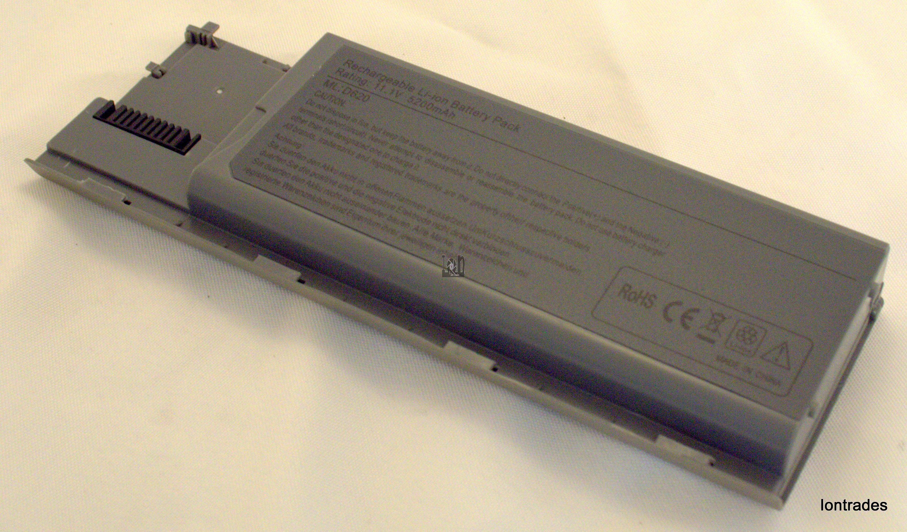 NEW Replacement Dell D620 Laptop Battery 5200mAh 11.1V Li-ion