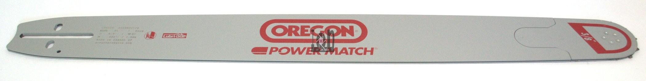 "Oregon Power Match 24"" Chainsaw Guide Bar 240RNDD176  .050"" 3/8""LP 81DL"