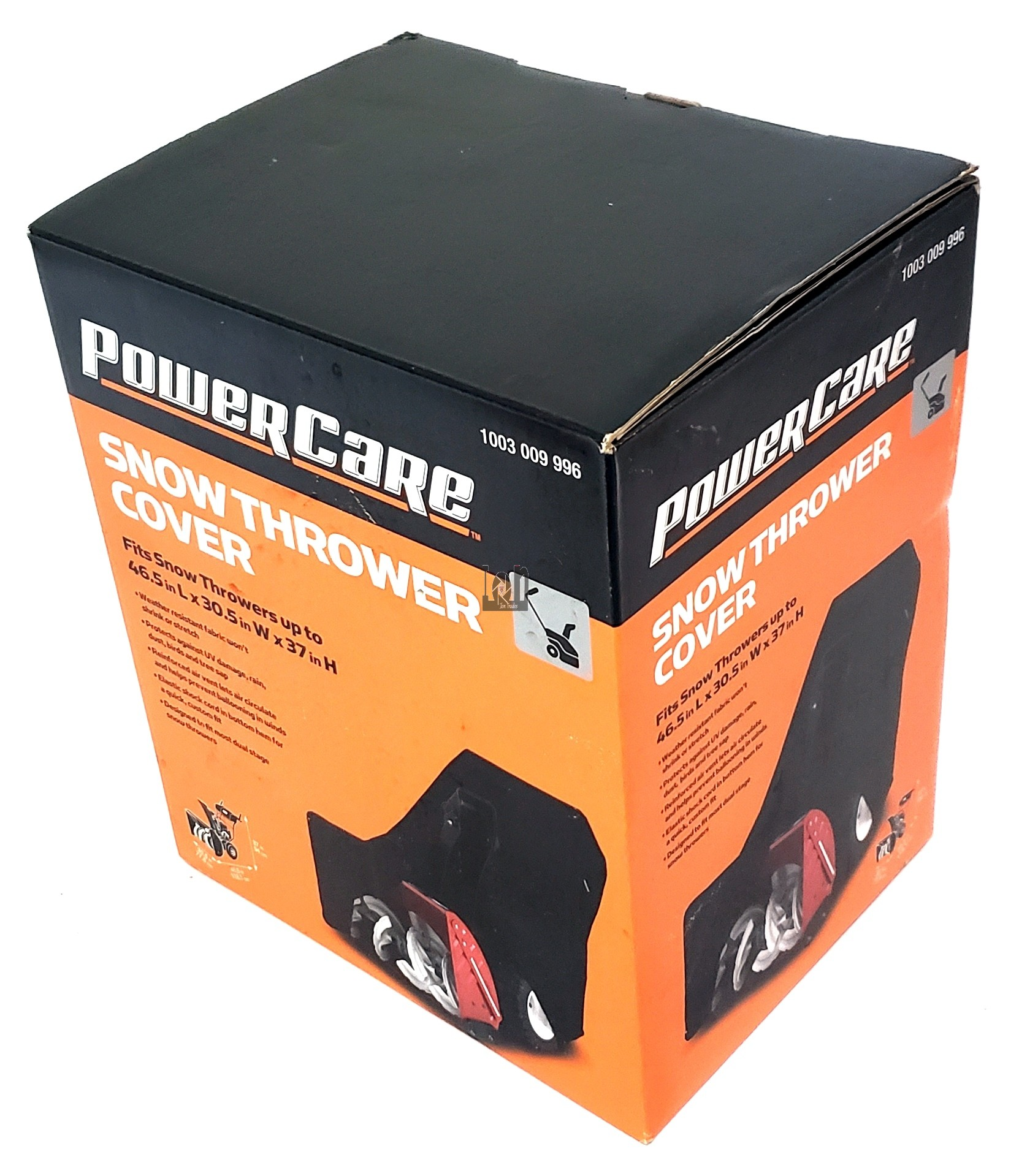 Power Care Snow Thrower Cover 46.5 x 30.5 x 37