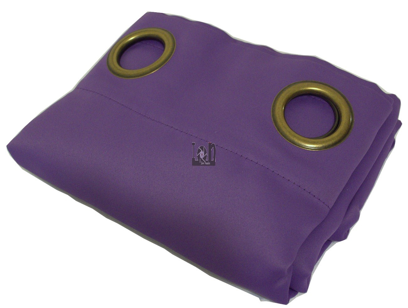 "Purple Polyester Window Curtain ONE Drape Panel 52"" x 84"""