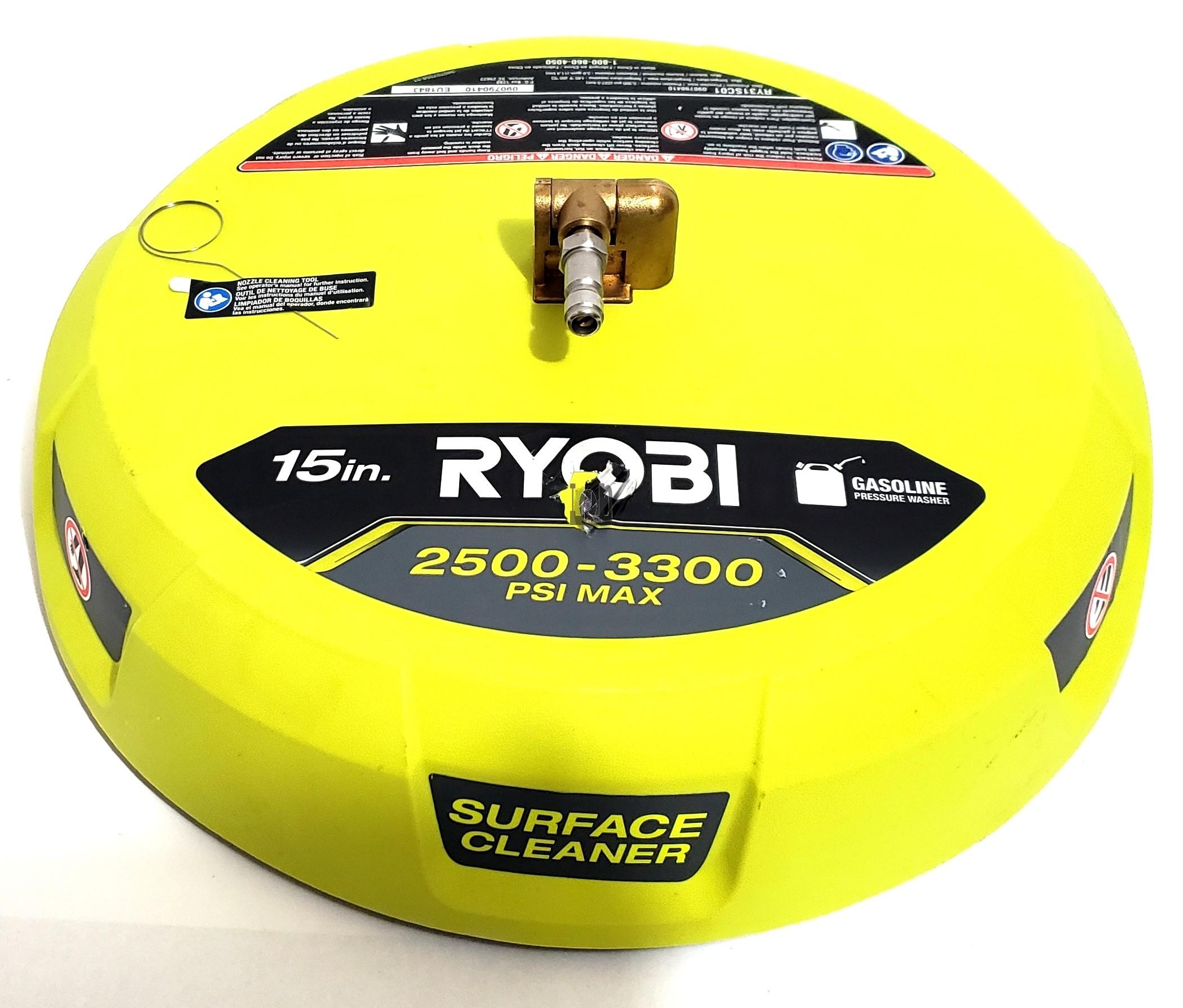 "Ryobi RY31SC01 15"" Surface Cleaner Pressure Washer Attachment"