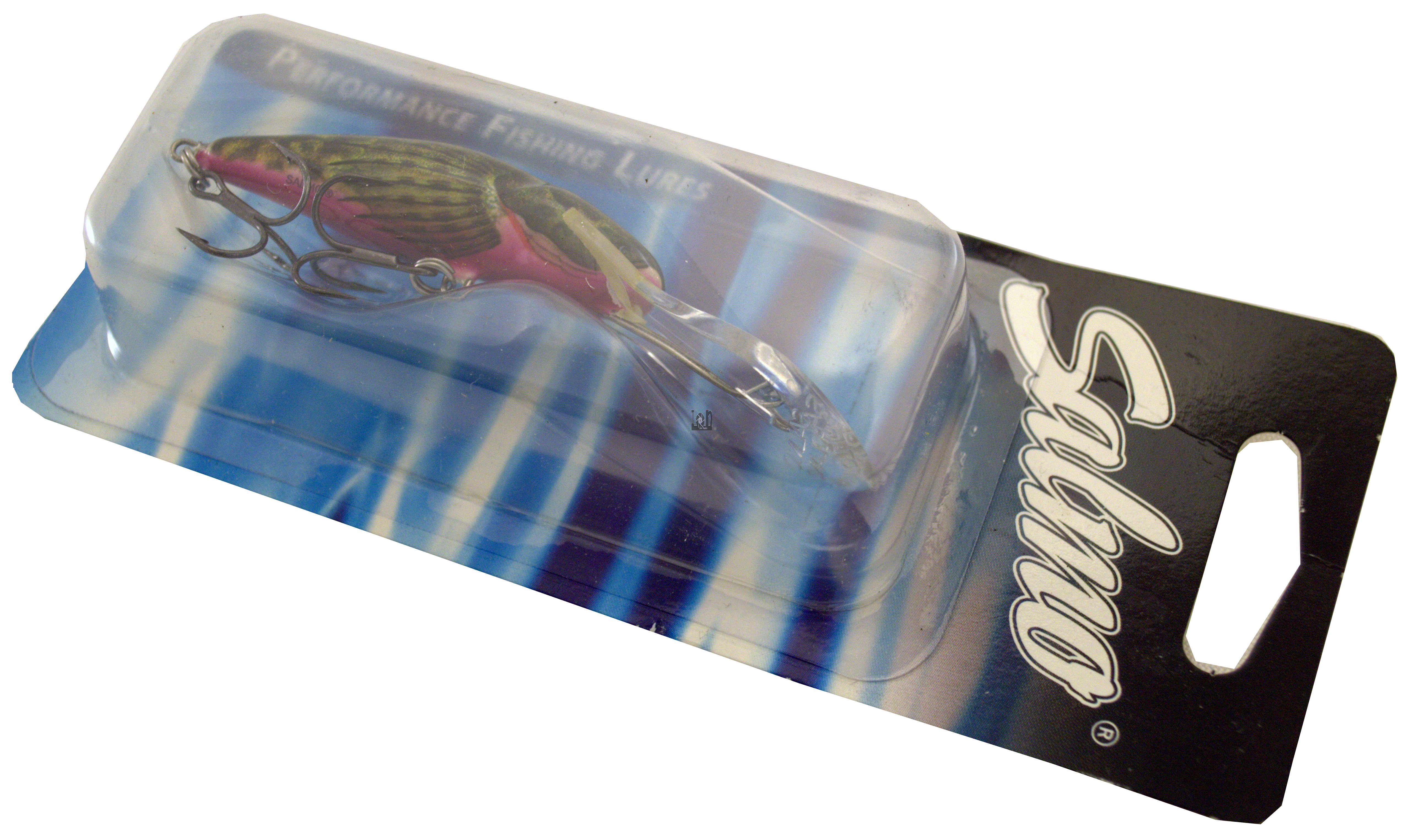 """Salmo Bull Head Fishing Lure 2-1/2""""  Sparkle Floating  BD6SDR SBD"""