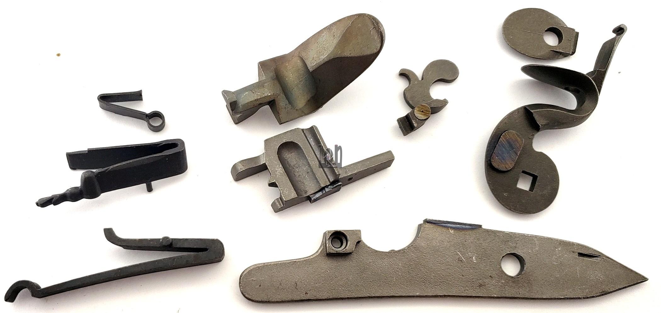 Siler Style Flintlock Flint Lock Kit Muzzloader Pieces and Parts Lot