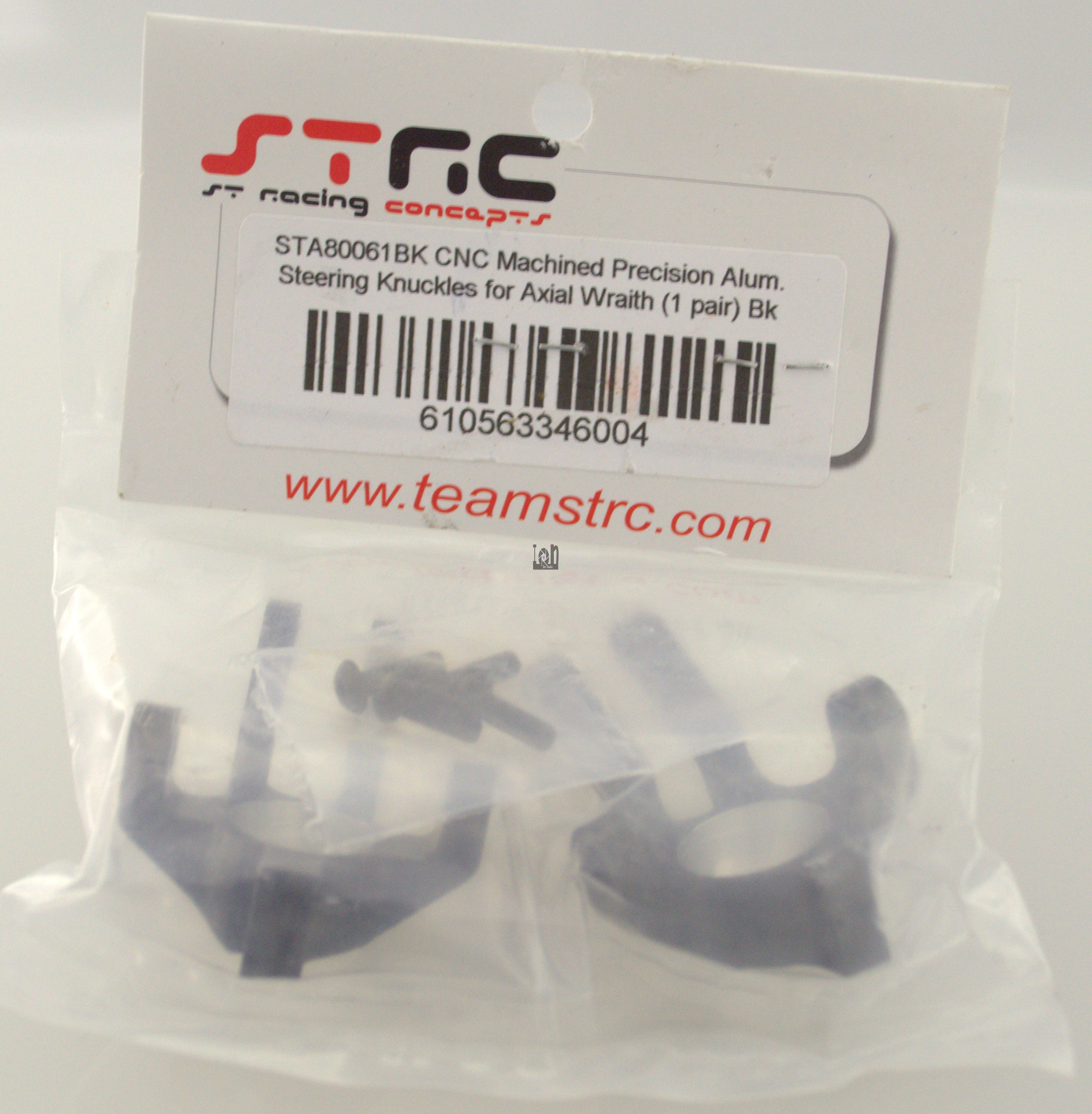 STA80061BK ST Racing CNC  Aluminum RC Steering Knuckles Axial Wrath Parts