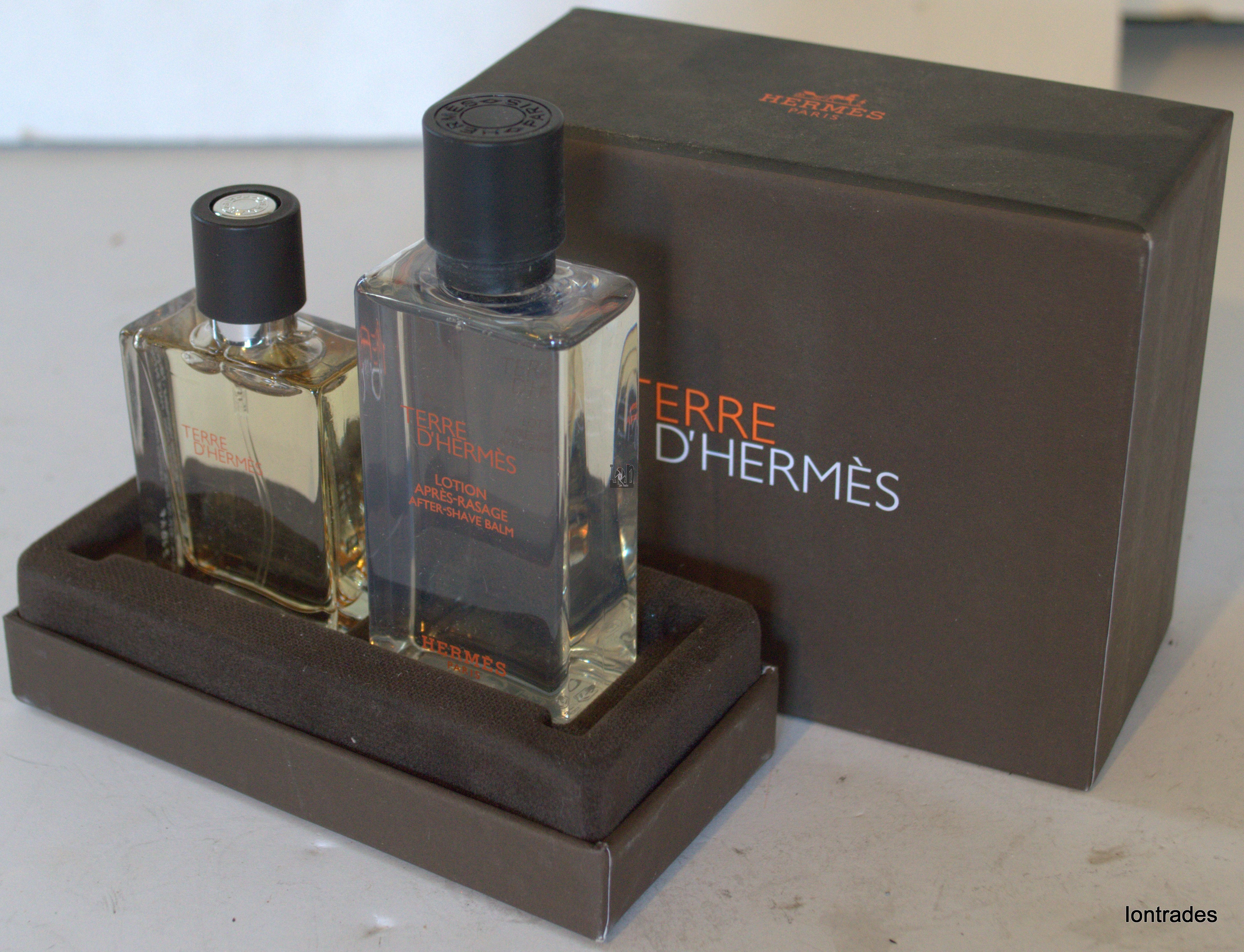 Terre D'Hermes Paris Mens After Shave Lotion and Spray Cologne