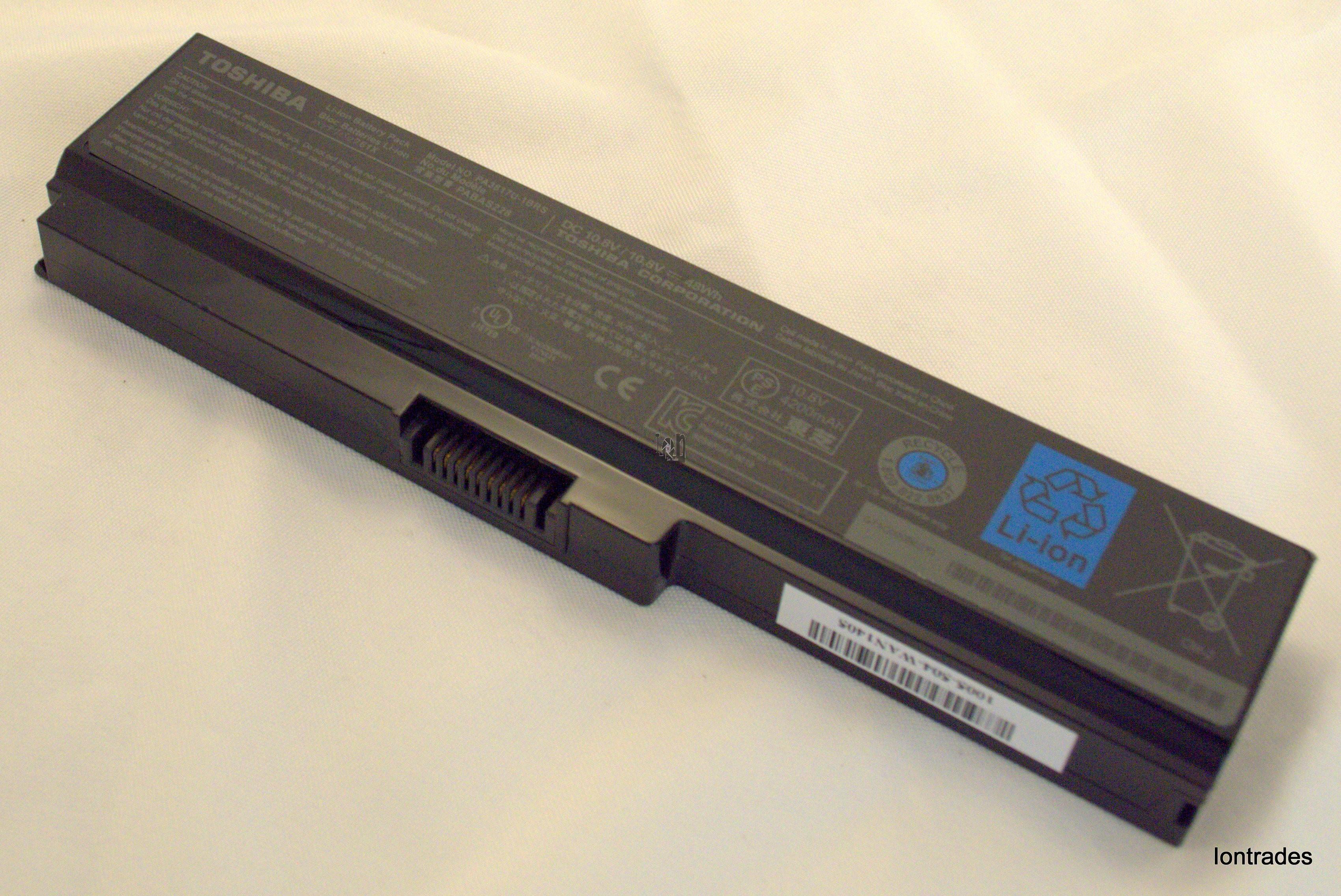 Toshiba PA3817U-1BRS 4200mAh Battery OEM Genuine Laptop Parts