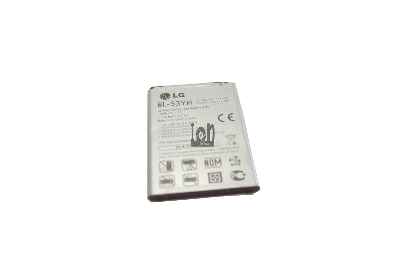 Used LG BL-53YH Battery 3000mAh Optimus G3 D830 F400